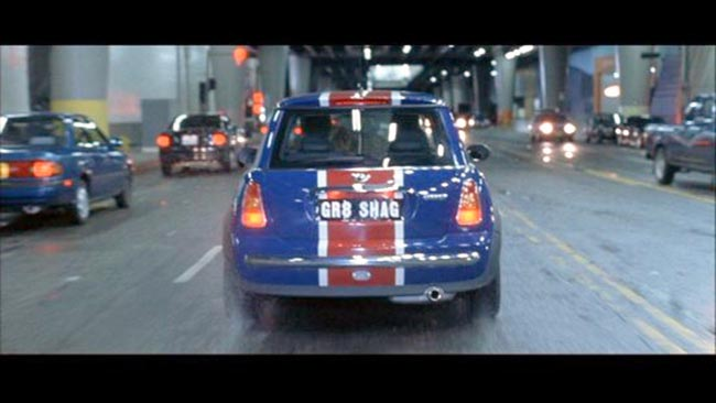 In his first movie, British superspy Austin Powers debuted his Union Jack-painted Jaguar, aka the