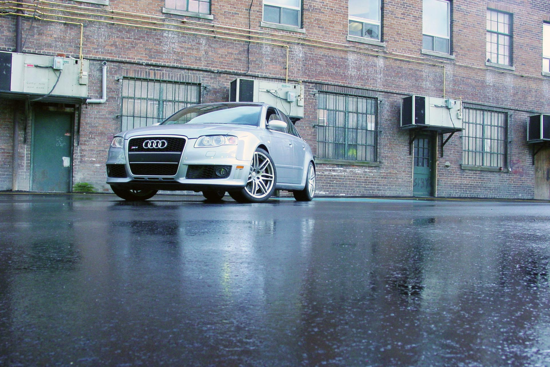 All hail its majesty of rip-snorting sleeper super-sedans, the Audi RS 4! This over-the-top, under-the-radar rocket-rig was only sold to us Canucks for two years, and you'll be shopping the used market for one, if at all. Mostly, you'll love how Audi installed a throbbing 4.2L V8 with 420 horsepower and a redline of eight-freaking-thousand revs (!!!), along with a proper gentleman's manual transmission, with gear ratios so tall you could rip it into second to pass an 18-wheeler on the highway. This one goes like bananas and looks classy and discreet, all while letting drivers jump in with both feet.