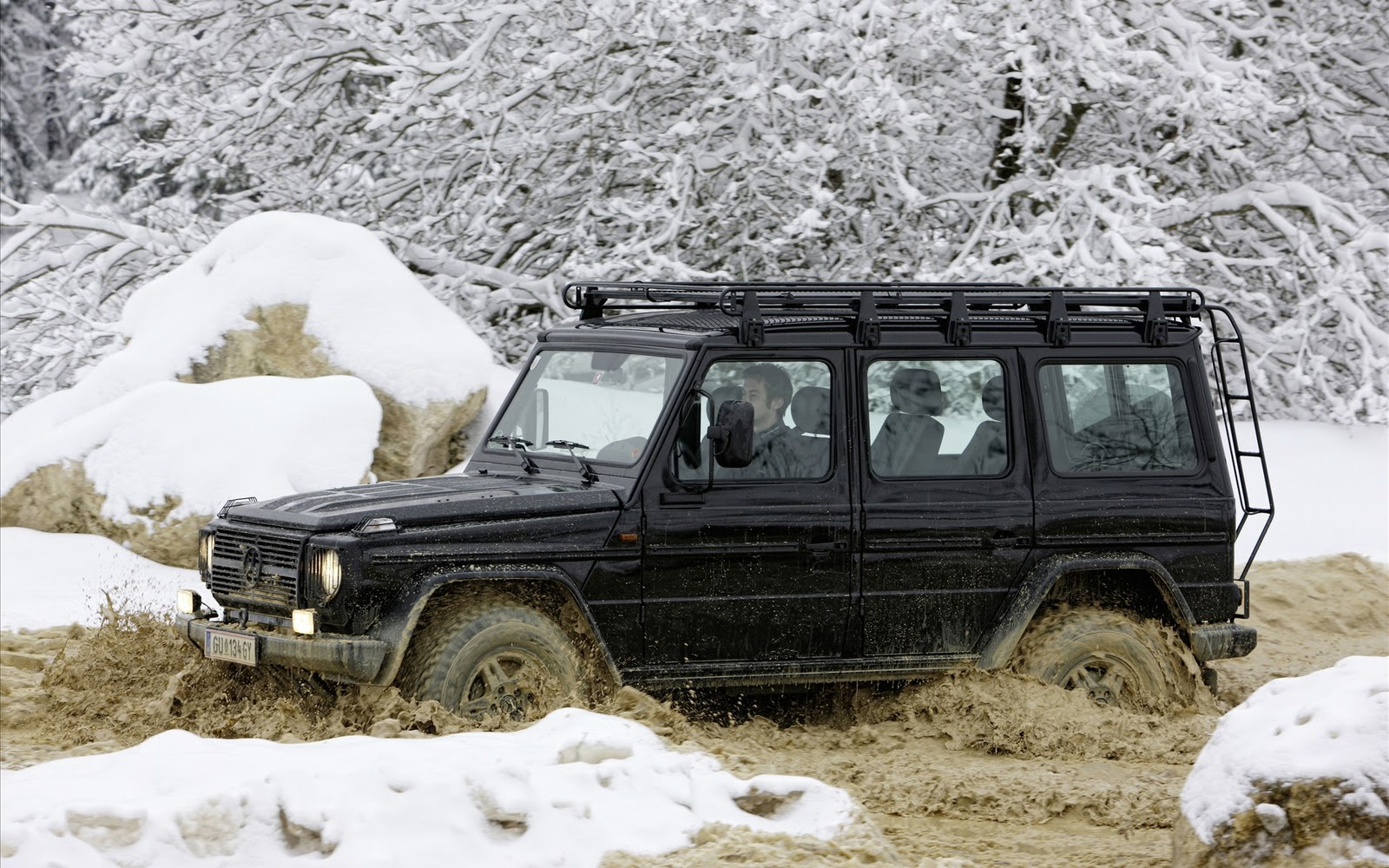 With locking differentials, a hood you can jump up and down on, short overhangs, and plenty of interior space, the G-Wagen is an unstoppable utility. Now you can afford to keep one in fuel as well.