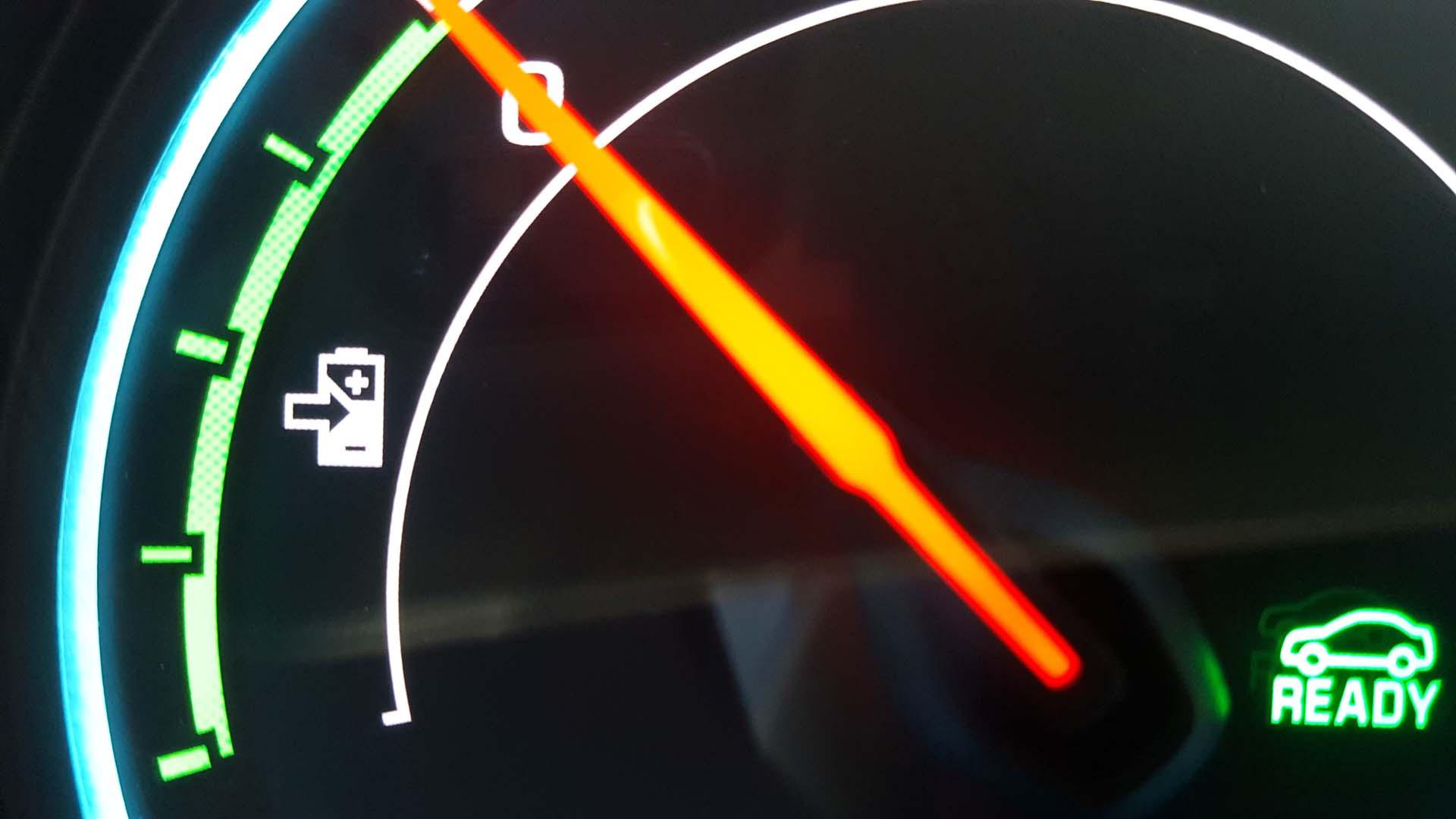 regenerative braking meter
