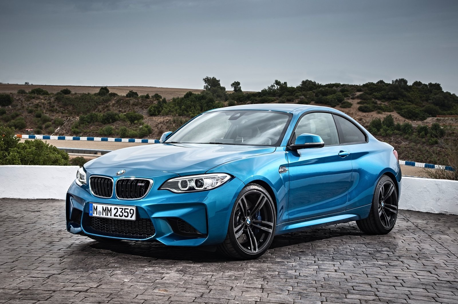 The M2 is a speed-focused version of BMW's compact 2 Series coupe.