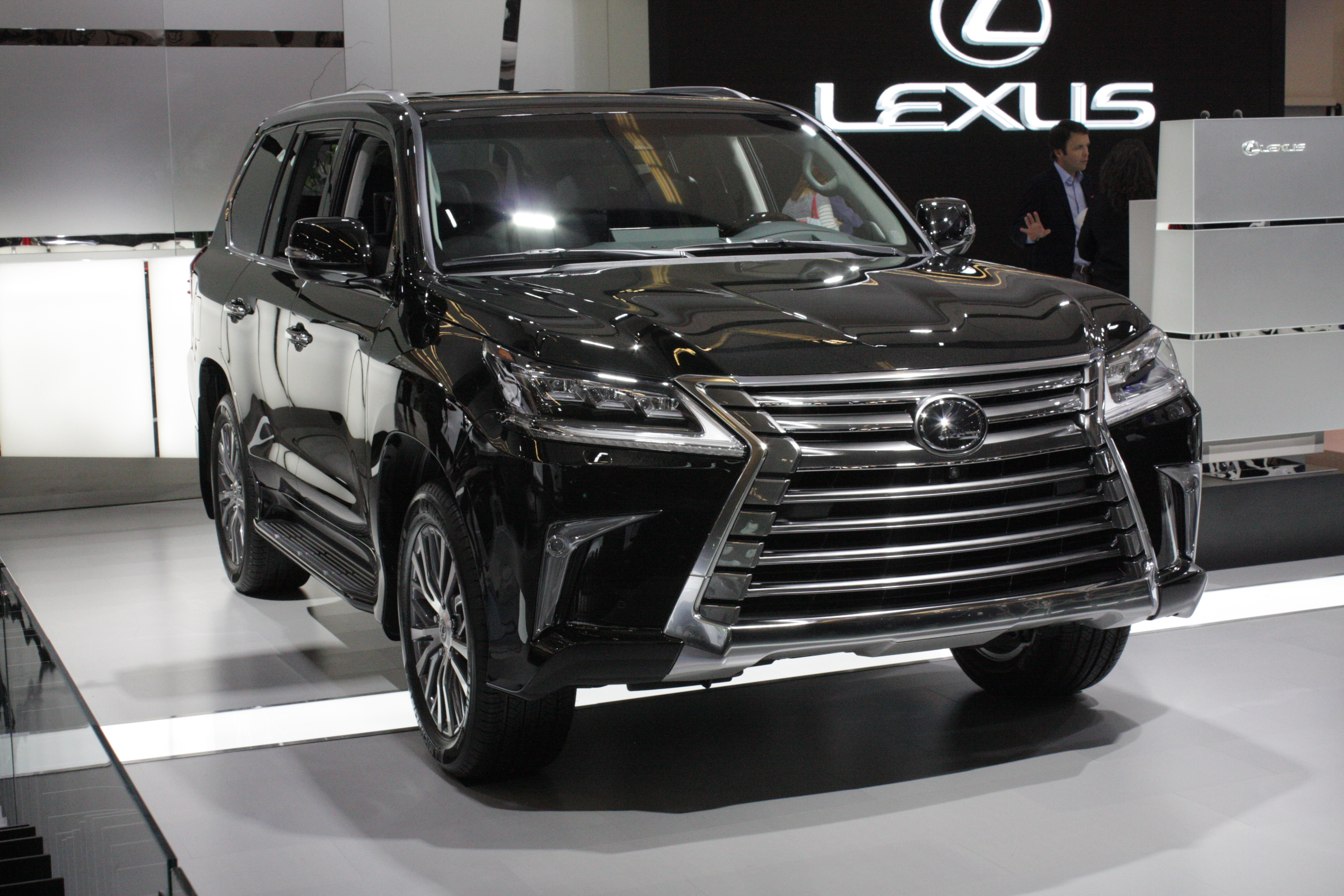 Also making its Canadian premiere for Lexus is a redesigned LX 570 full-size SUV.