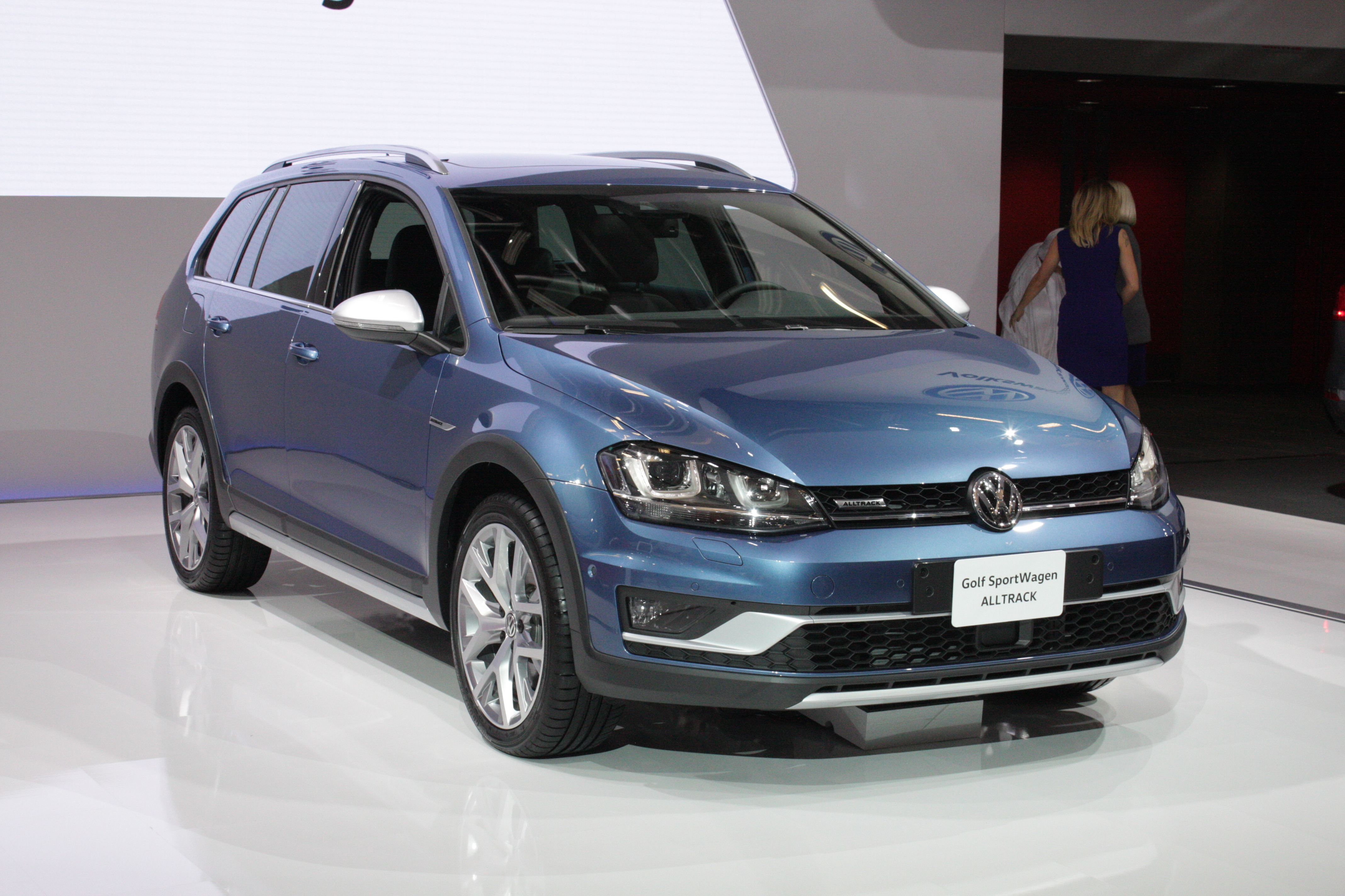 ... and the Golf Sportwagon Alltrack, which adds all-wheel drive to the compact wagon that boasts interior space to rival some mid-size crossovers.