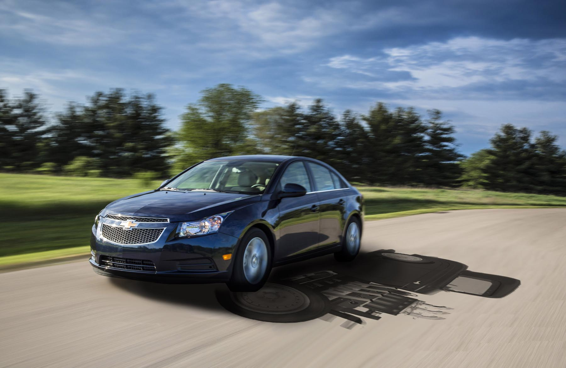 <b>5th -</b> Chevrolet's aging Cruze followed a similar pattern to the Mazda, which means staying pat in fifth place and keeping the Volkswagen Jetta out of the top five for another year. Even with its excellent available clean diesel engine, Chevy must be hoping its updates for 2015 help deliver more interest than the 34,421 sold in 2014.
