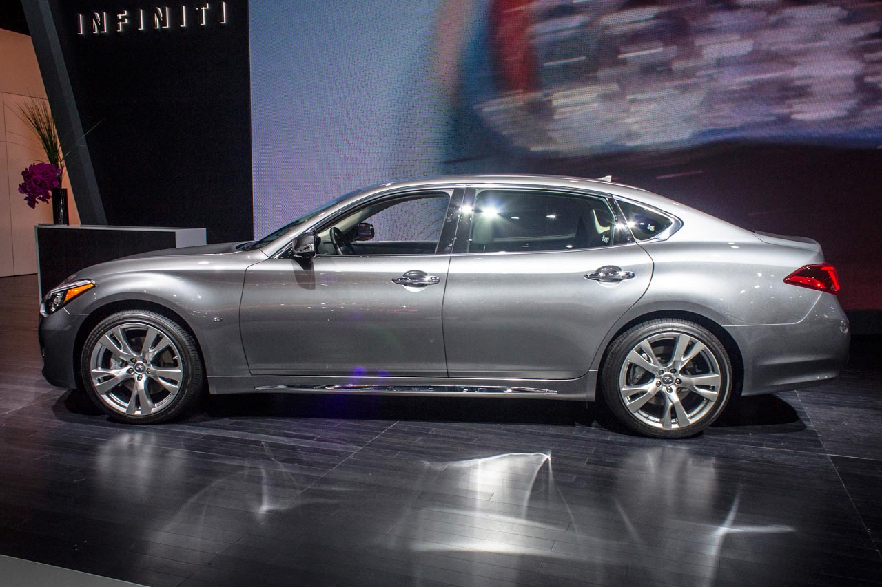 The long wheelbase version of Infiniti's Q70 sedan has all the amenities of the original, with a little more room for passengers to stretch out.