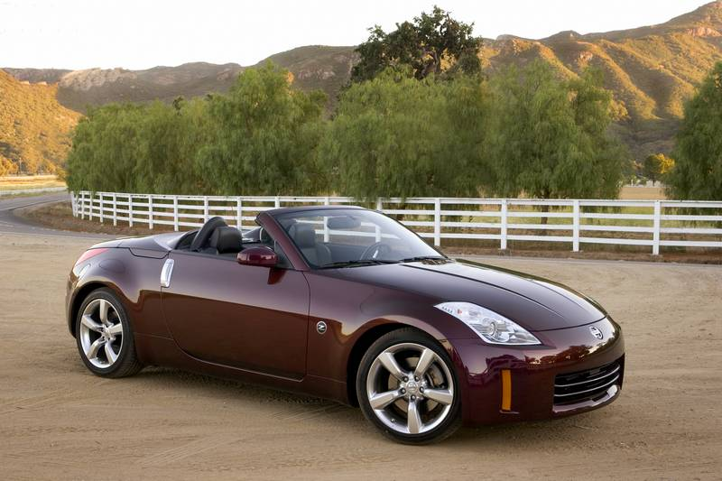 "<b>The Draw:</b> That wailing exhaust note! And, of course, a long history of Nissan ""Z"" cars that culminated in this last-generation 350Z roadster—which offered up an award-winning V6 engine, unique looks and a compliant everyday driving experience. Pricing for a used Z Roadster is very appealing these days, and a suite of high-end features can be had – including a CD changer, Bose stereo and more. Look for up to 306 horsepower, depending on the year."