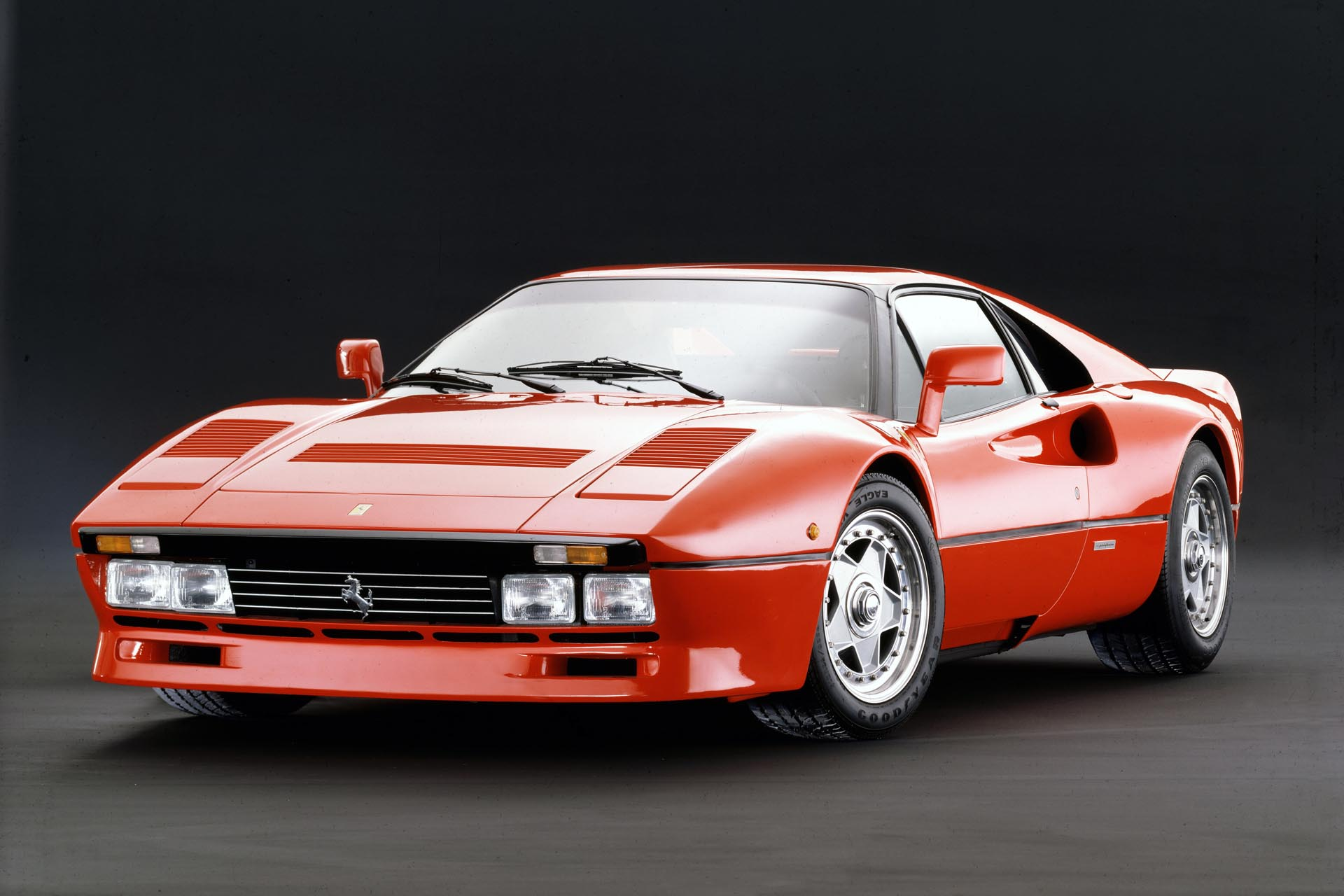 If your image of a classic Ferrari is a curvaceous shape carving up perfectly smooth tarmac, then here's a jolt for you. Imagine this thing shod in knobbly tires, spraying gravel and flame out the back as it hurtles through some dark Scandinavian forest, battling Audis and Lancias for the title.