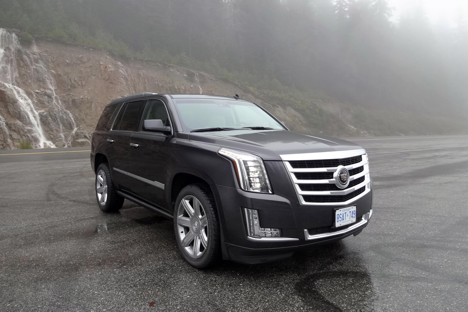 It's easy to deal with a situation if you just don't care, and the Cadillac Escalade makes it easy not to care about traffic. You're bigger than everyone else. You sit way up high with a commanding view. You've got all-wheel drive in case the weather turns nasty. You've got available adaptive cruise control and other driving aids to ease the burden of navigating dense traffic. You've got comfortable leather seating and a superb-sounding infotainment system with all the bells and whistles. Yep, provided you can afford the steep price of entry and the hefty ongoing fuel bills, the Escalade does a fine job of insulating you from the slings and arrows of the daily commute.
