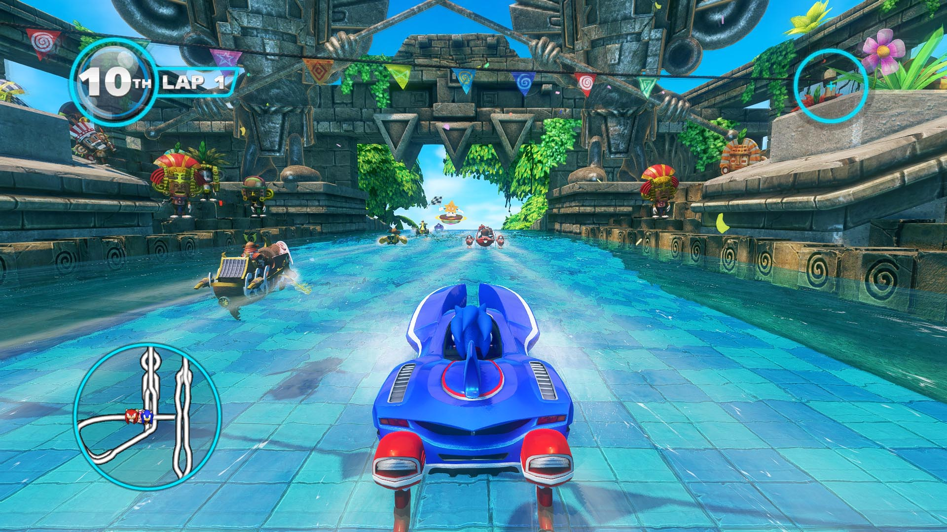 Love <i>Mario Kart </i>but don't have a Nintendo console? This is <i>the</i> multiplatform, multiplayer game, with support for online <i>and</i> local multiplayer on all platforms. And you're racing vehicles that transform between car, boat, and plane modes, all within the same race. | <b>For:</b> PC, Wii U, PS3, Xbox 360, 3DS, Vita, iOS, Android