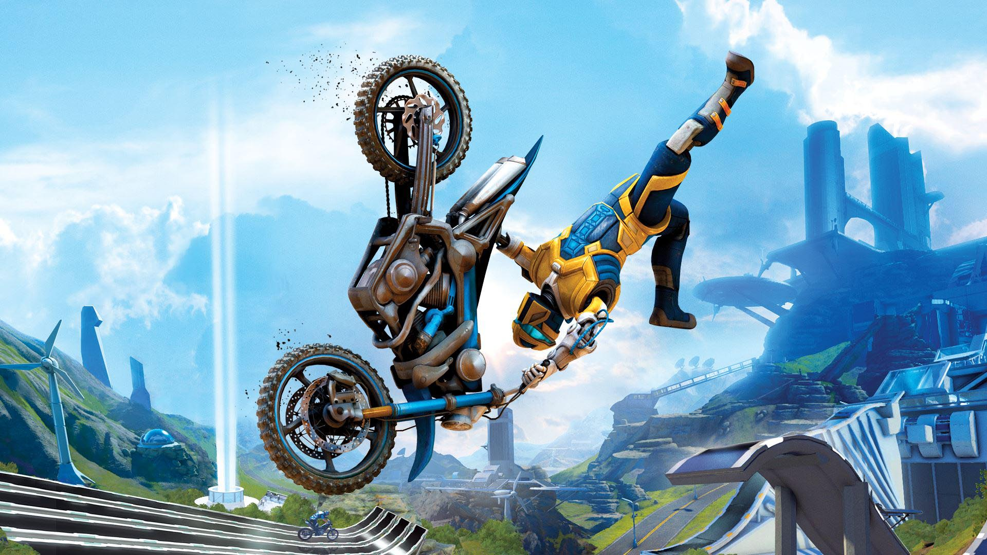 Okay, so there's a finish line here. But the focus in <i>Trials Fusion</i> isn't getting there first, it's pulling stunts along the way and getting there in style. For current-gen gamers, this is a no-brainer, as it's one of the few games which support four-player local multiplayer. Oh, did we mention the unicorn DLC? Yep, that's a thing. | <b>For:</b> PC, PS4, Xbox One, Xbox 360