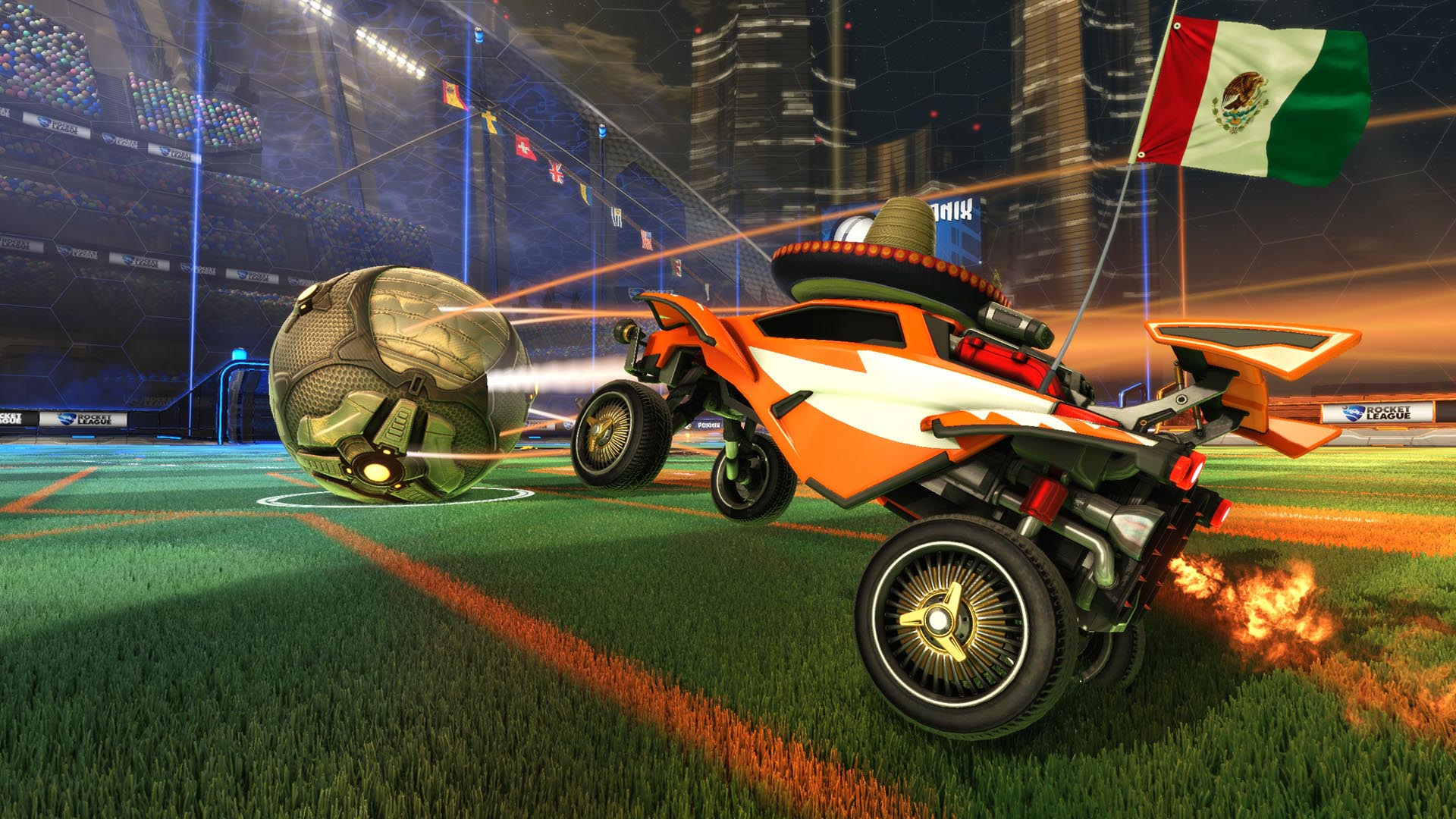 Soccer (or football, if you prefer), but with cars. You may have seen it on Top Gear, and if you thought that was chaotic, you should try it with booster rockets and two-player split-screen. Currently free for Playstation Plus subscribers, it's one you don't want to miss. | <b>For:</b> PC, PS4
