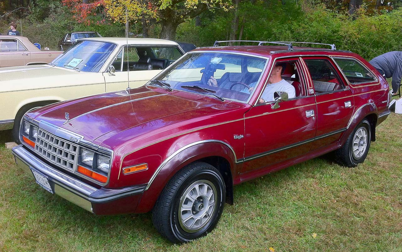Probably the least-successful car on this list, the AMC Eagle was nonetheless a harbinger of a coming trend. Combining four-wheel-drive, station wagon space, and car-like ride and handling, it was the original crossover vehicle. In fact, the Eagle was so ahead of its time, it was the only car to use full-time four-wheel-drive. You have to wonder if it isn't going to become collectible one of these days.