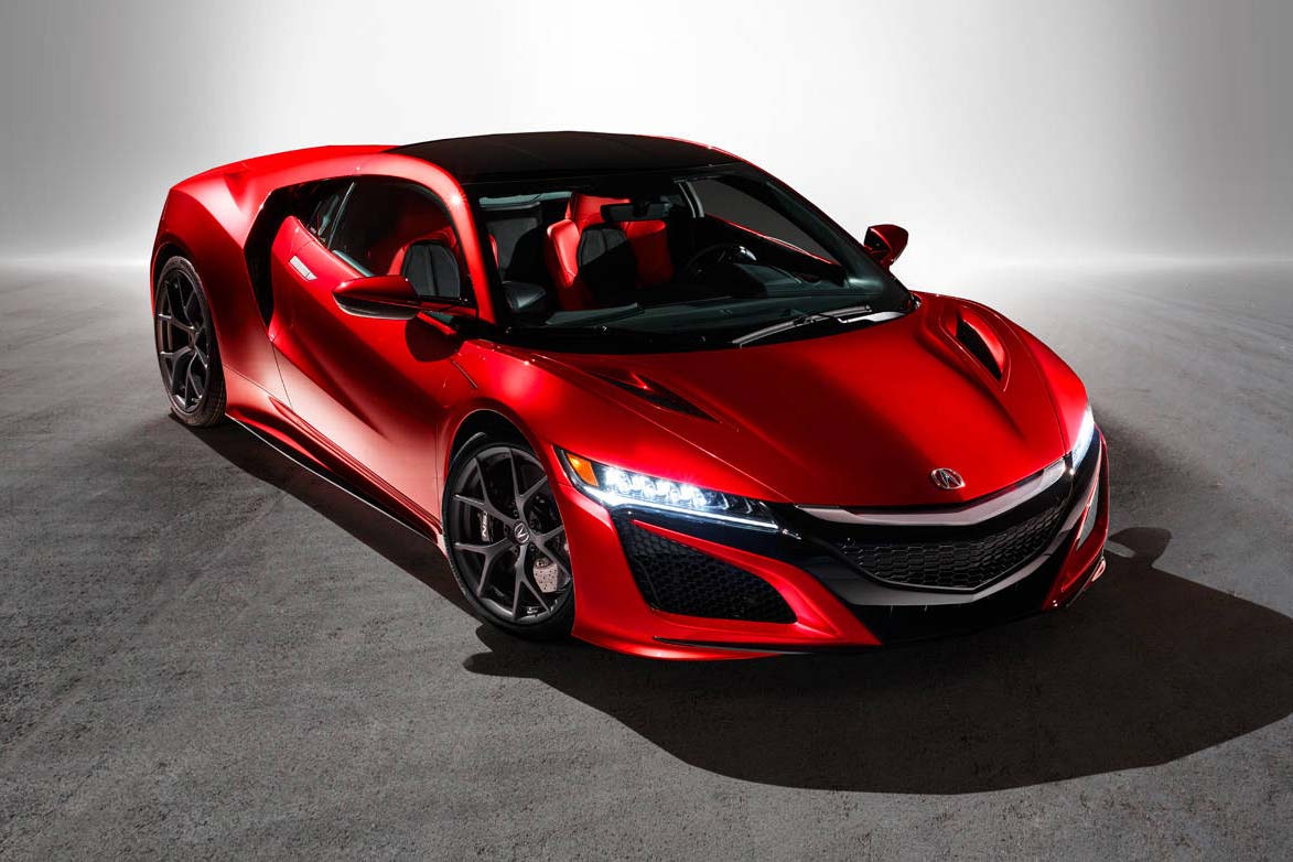 Initially rumoured to be coming to market with a V6-hybrid powertrain, the NSX seemed to take forever to go from concept to reality. That's because they swapped out the humble six-cylinder powertrain for a real screamer: a longitudinally-mounted twin-turbo V6 making something north of 550 hp. That's Ferrari-fighting territory, once again. Good news for Acura fans, and good news for the performance car industry in general, as there are rumours some of Honda's top-level technology could start trickling down to other go-fast Acuras and Hondas.