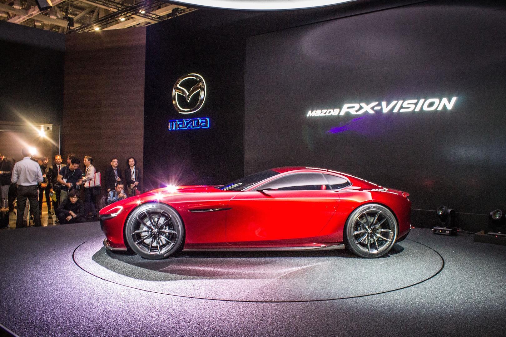 Mazda RX-Vision Profile