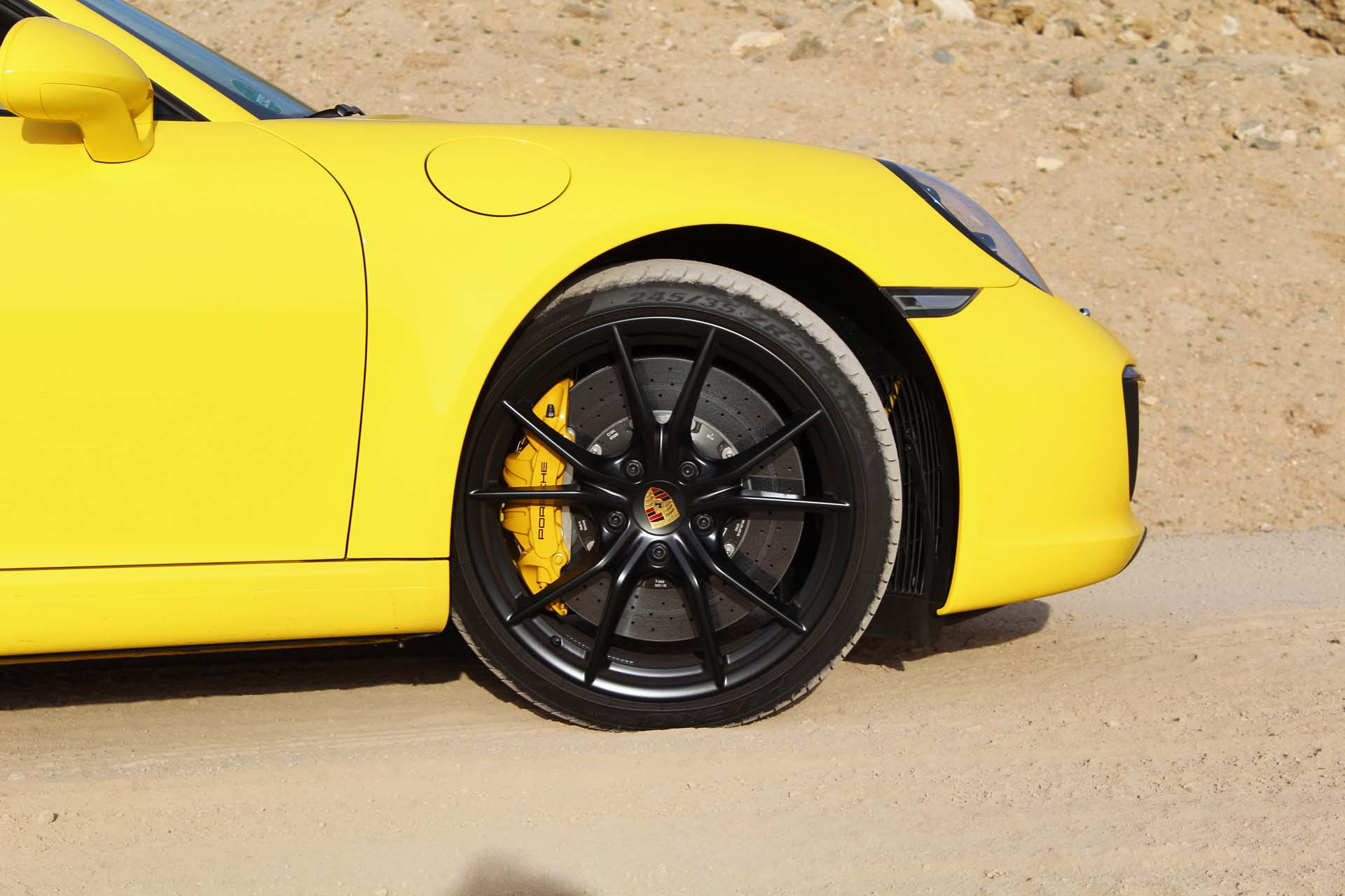 You'll be paying $9730 for these ceramic brakes.