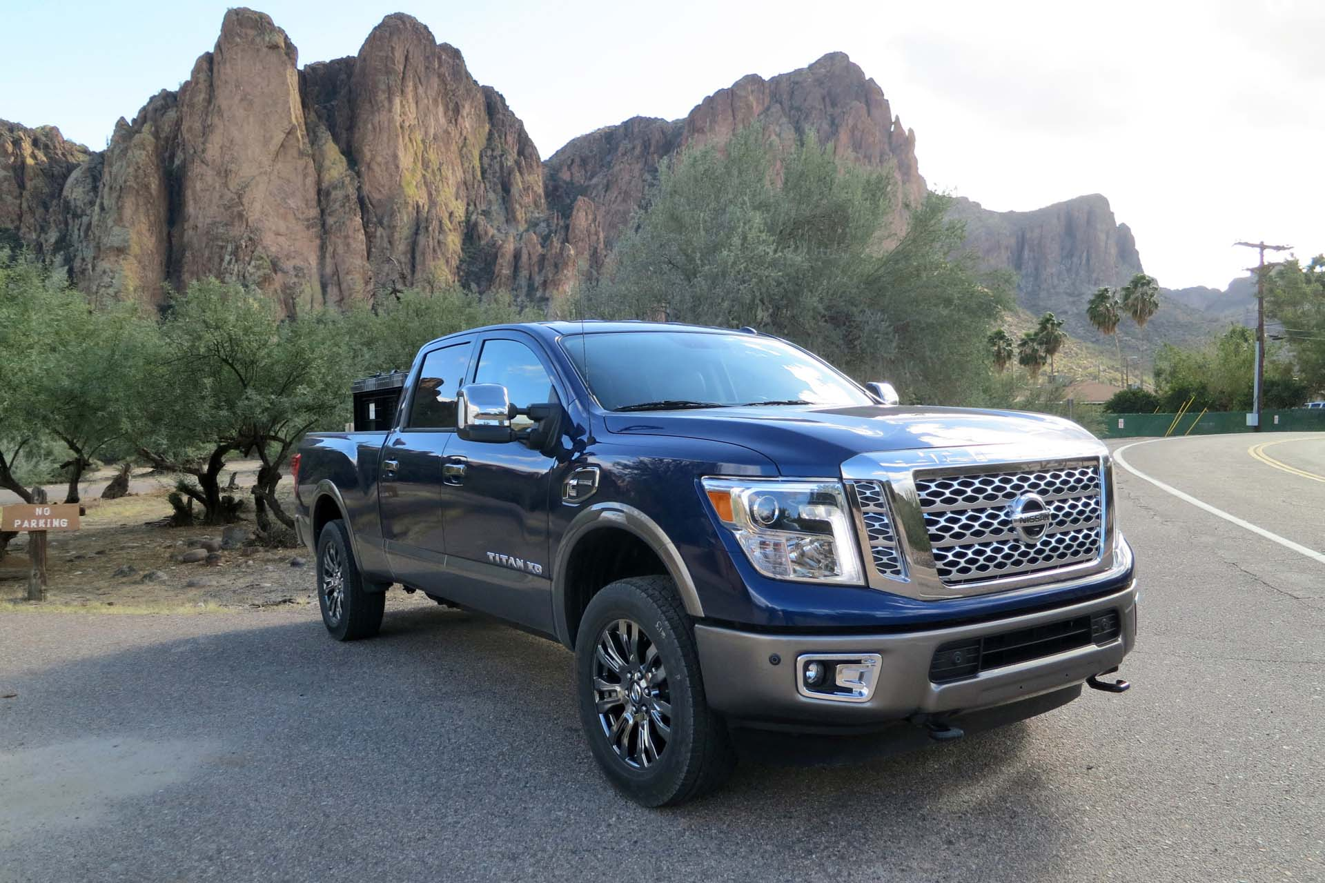 The new Nissan Titan XD is the first of its kind: a light duty, diesel-powered pickup built to handle heavy duty tasks. It's the perfect compromise for the buyer who wants the strength and durability of a serious hauler, but doesn't want to give up the comfortable ride and maneuverability of a regular size truck. </p> <p>Here are ten things you need to know about the 2016 Nissan Titan XD: