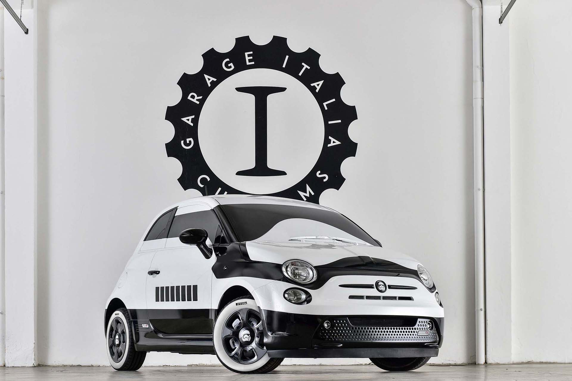 Garage Italia's got a little bit more budget than most of the fan cars on this list, which is why their Stormtrooper-inspired Fiat 500e offers a level of fit and finish seldom seen in the world of Star Wars tributes. Similar in theme to the Stormtrooper Dodge Chargers that took part in an Uber promo earlier in 2015, the electric Fiat 500e boasts a stylized helmet paint job with black and white highlights intended to evoke Stormtrooper armor both inside and out.