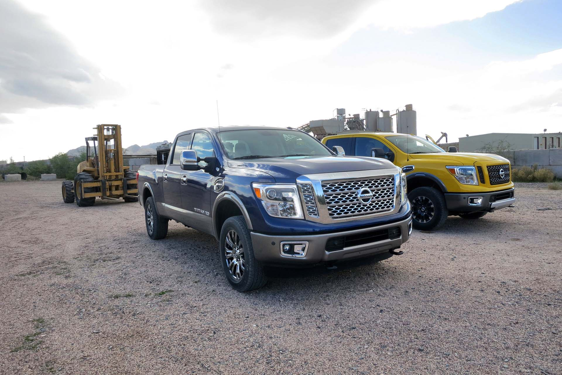 While Canadian pricing won't be available until the truck's 2016 arrival date is announced, the Titan XD is expected to start around US $40,000 for base crew cab 4x4, up to US $60,000 for a fully loaded Platinum Reserve. The regular gasoline version should arrive a few months after the Titan XD, with pricing competitive with domestic brands.