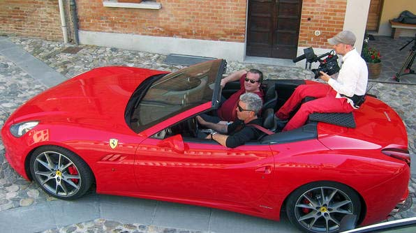 The only chef who rivals Ramsay when it comes to profanity and outragessness is Bourdain, who also sports his own Ferrari. While touring Italy Bourdain zipped around the ancient Roman roads in a cutting-edge piece of modern tech: the Ferrari California.
