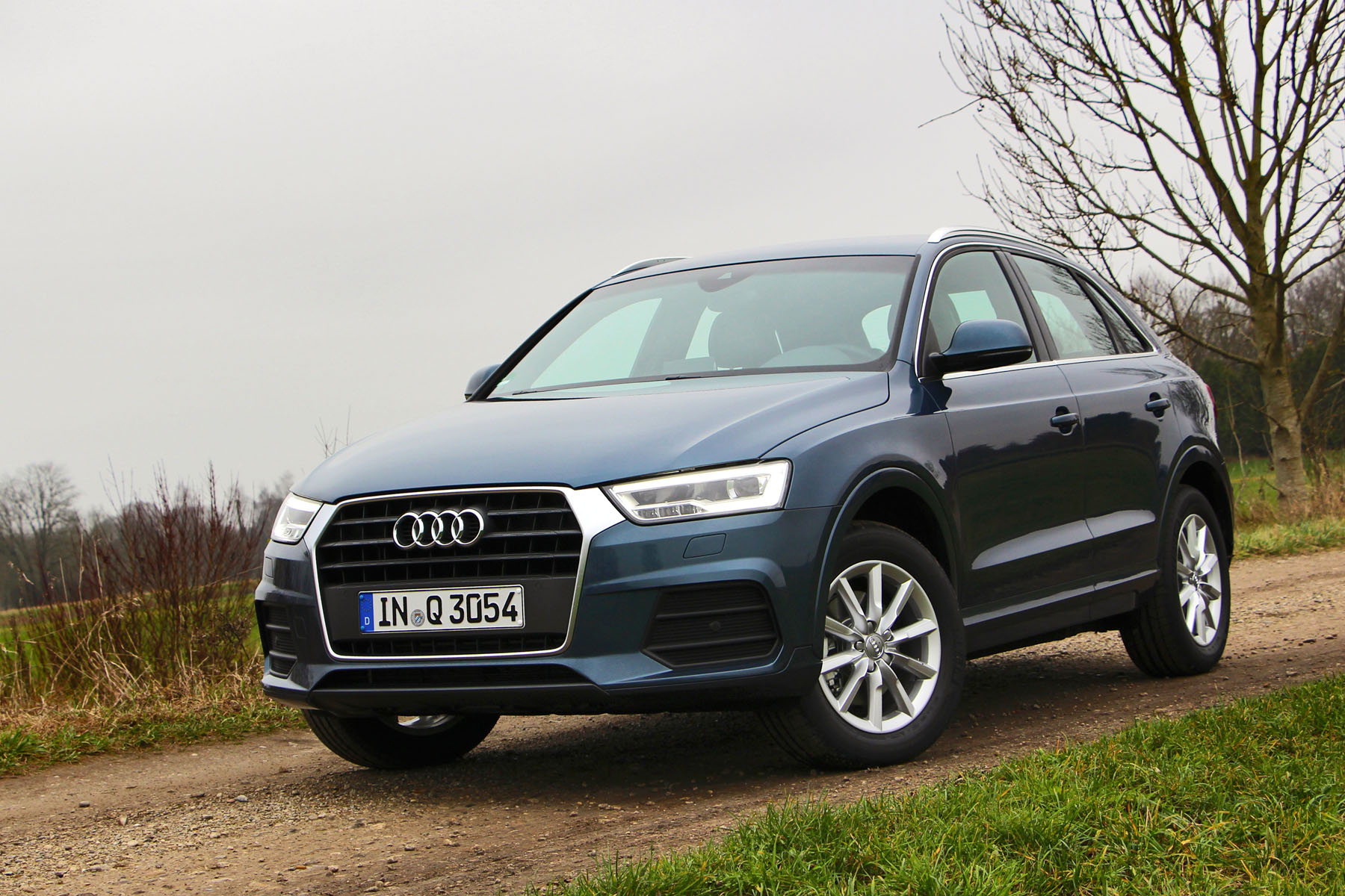 Also over in Europe, Audi offers a selection of up to 11 powertrains, with a variety of  diesels and gasoline turbos and manual or automatic transmissions. This one was the basic 2.0L diesel, and as efficient as it might be, was a tad sluggish for our tastes.