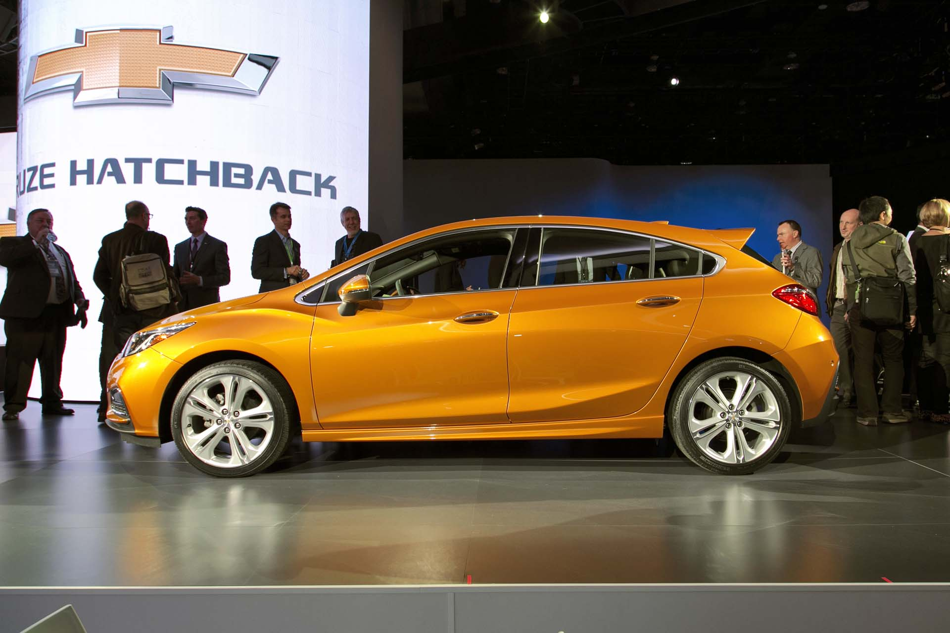 Chevrolet revealed a hatchback variant of its best-selling Cruze, featuring a slew of high-tech gadgetry as well as superior driving dynamics and more rear legroom than its competitors. In addition to a comprehensive suite of driver's aids, the Teen Driver feature promises to support safe techniques for new drivers and can provide parents with data on their child's  driving habits.