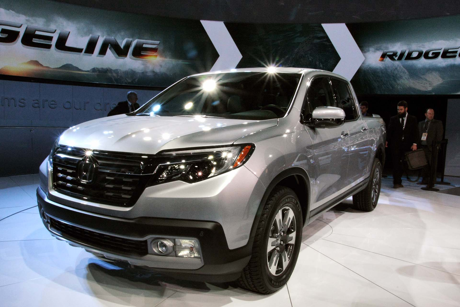 After a two-year hiatus, the Honda Ridgeline is making a comeback with some new tunes – literally, with its in-bed stereo system. (Tailgaters take note.) It's up against some stiff competition though, so here's hoping it'll impress the judges and the concert-goers, I mean, potential buyers.