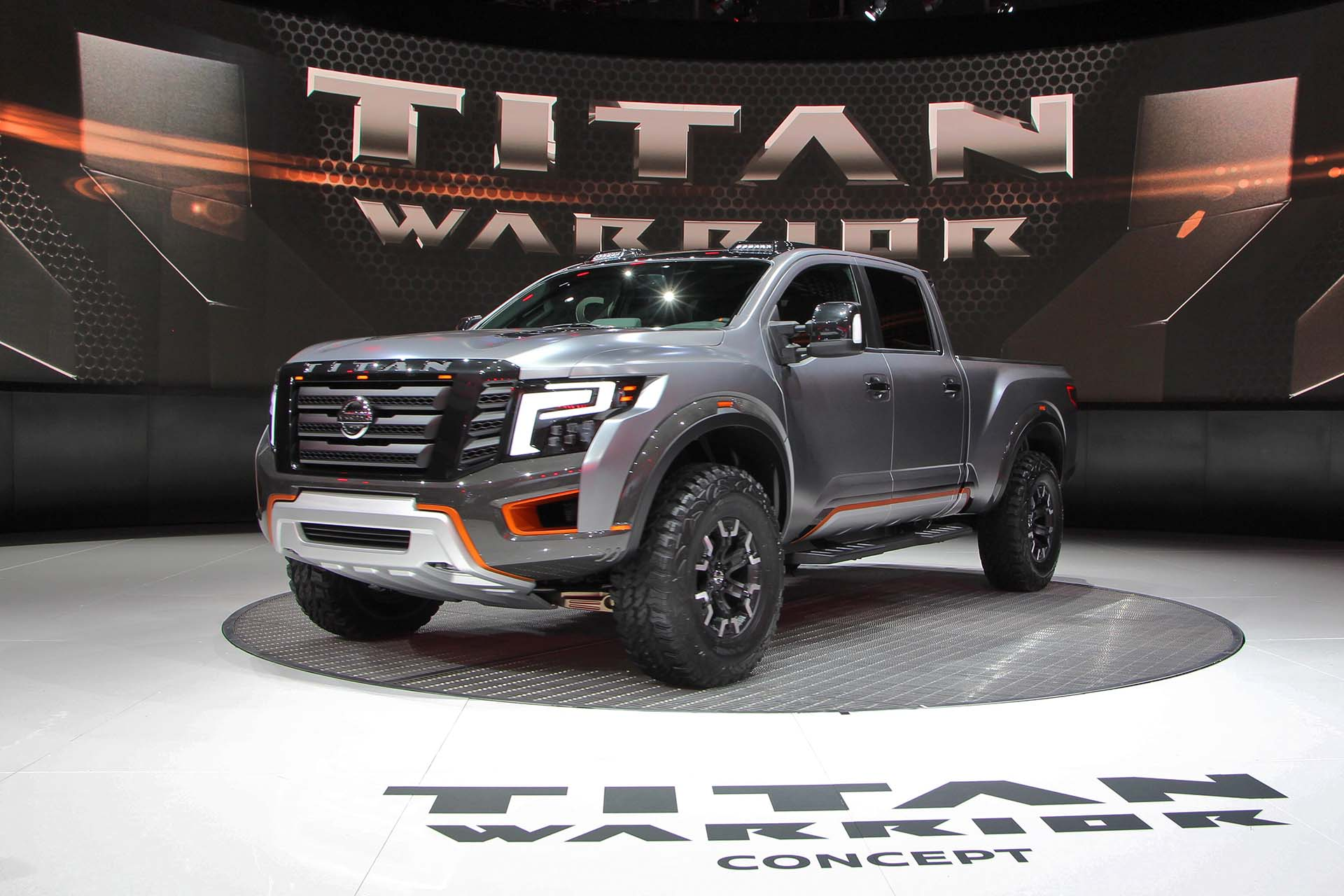 We imagine the designers at Nissan looked at their handiwork and thought: Yes, it's called the Titan. Yes, it's got a diesel engine. But is it hardcore enough? Well, mission accomplished, Nissan – the Titan Warrior concept looks ready for the zombie apocalypse (and will haul six months of supplies to boot).
