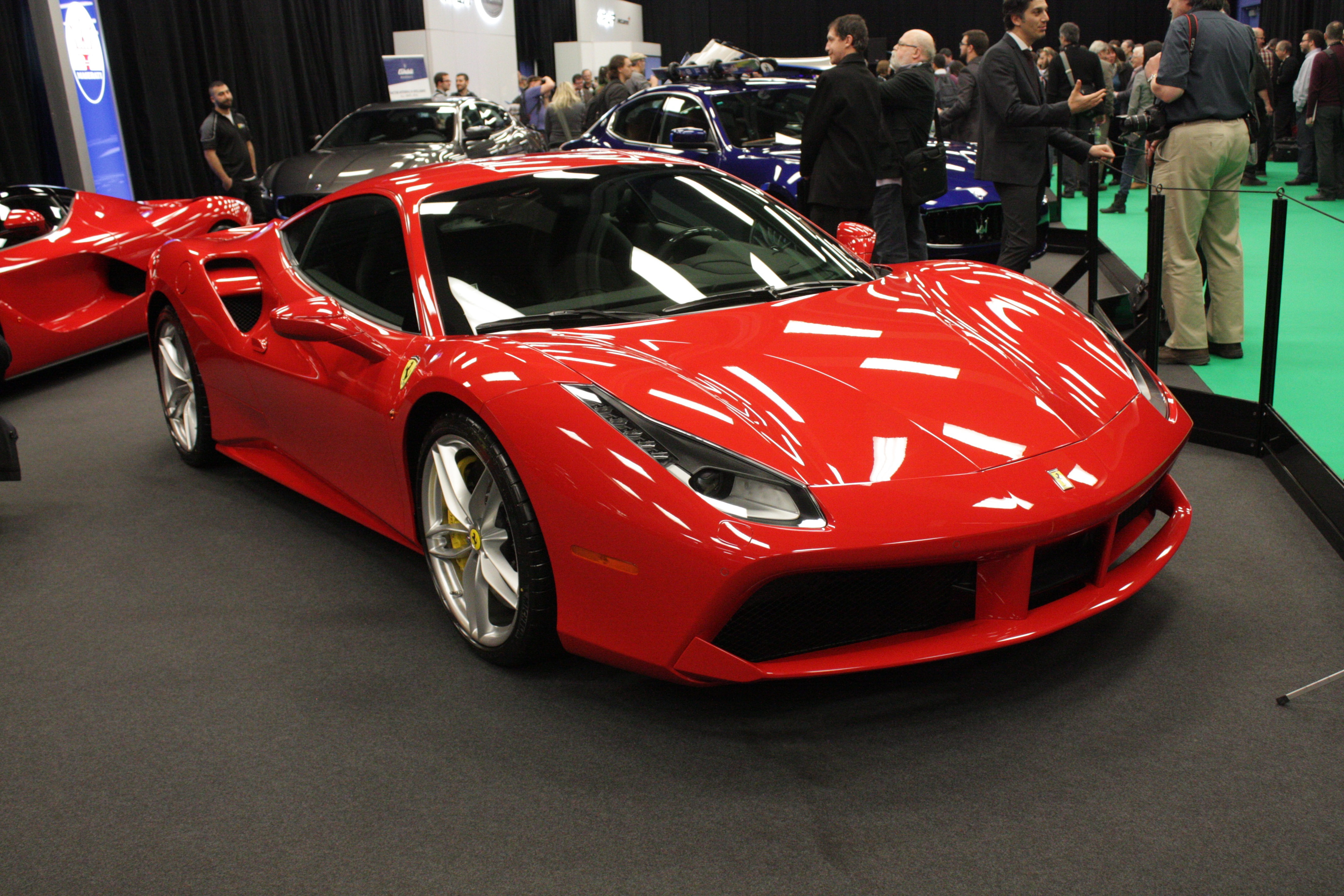 Next down the list is Ferrari, whose 488 GTB is the Italian automaker's first turbocharged model since the F40 introduced of the late 1980s.
