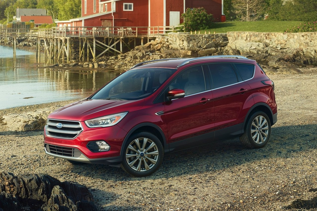 Ford's other debut is not as quick, but no less important: the 2017 Escape is a popular compact crossover wearing updated styling.