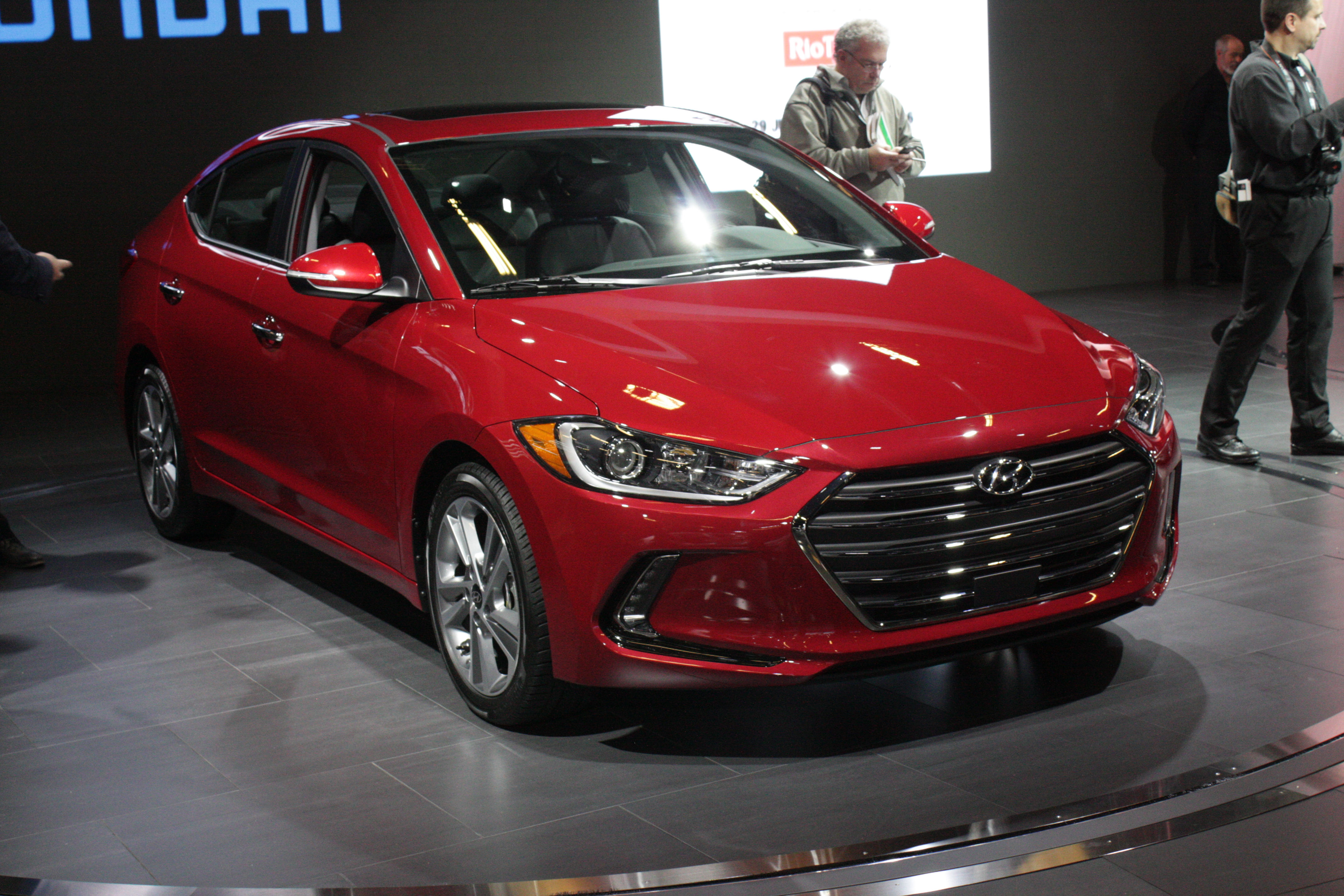 Another new compact comes from Hyundai, which showed the brand new 2017 Elantra sedan that once again brings big style at affordable pricing.