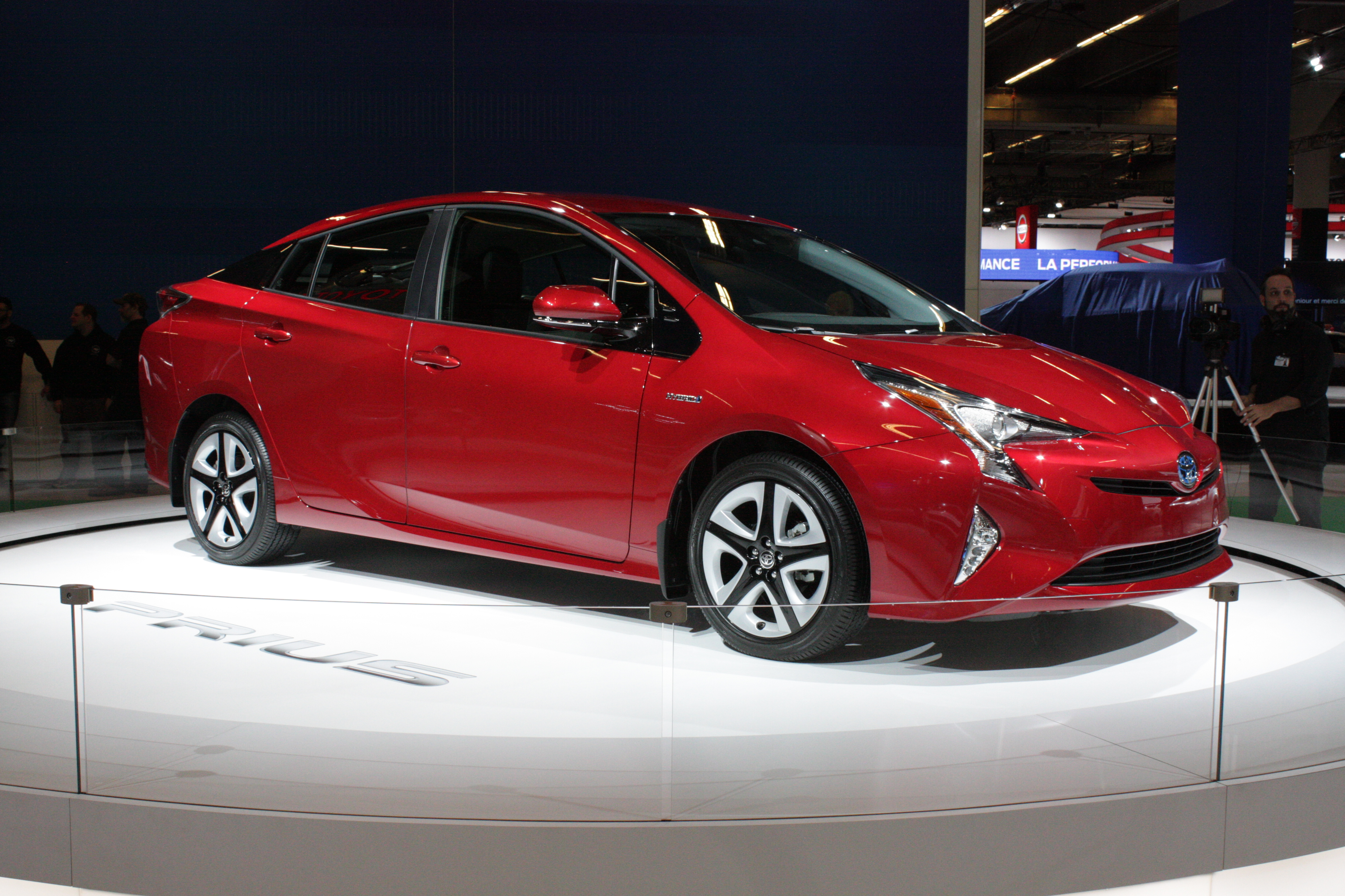 Toyota's pair of Canadian debuts include an all-new Prius hybrid...