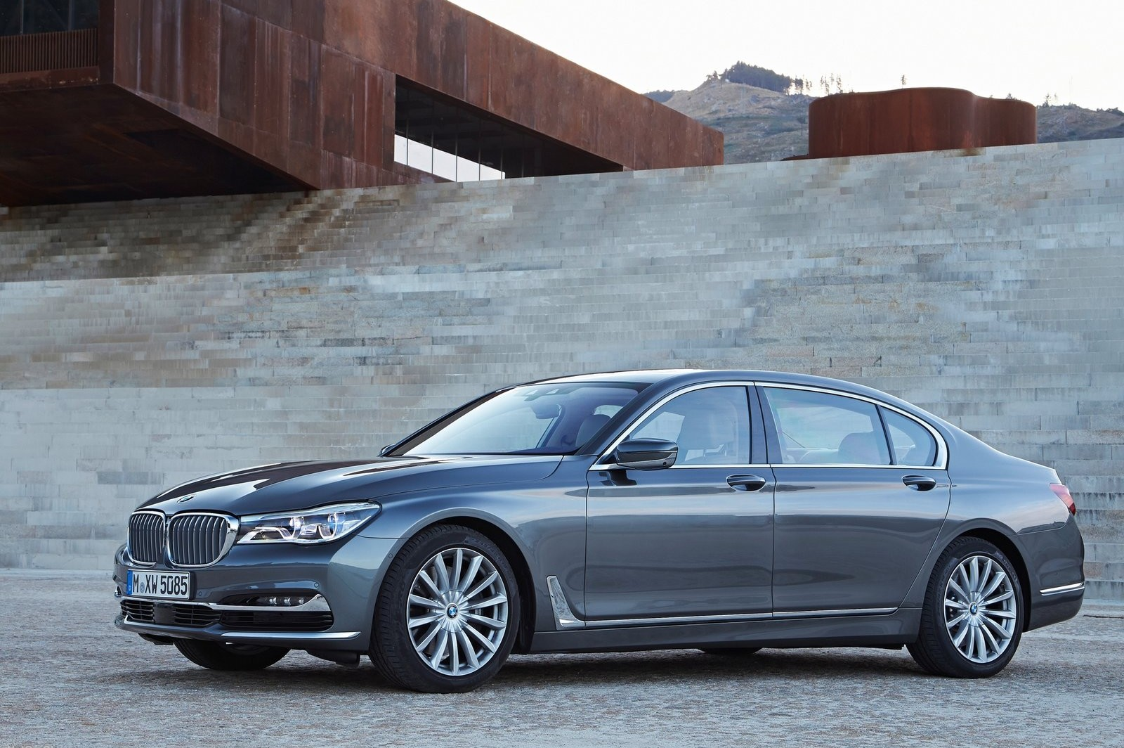 BMW's new 7 Series is a technological showcase.