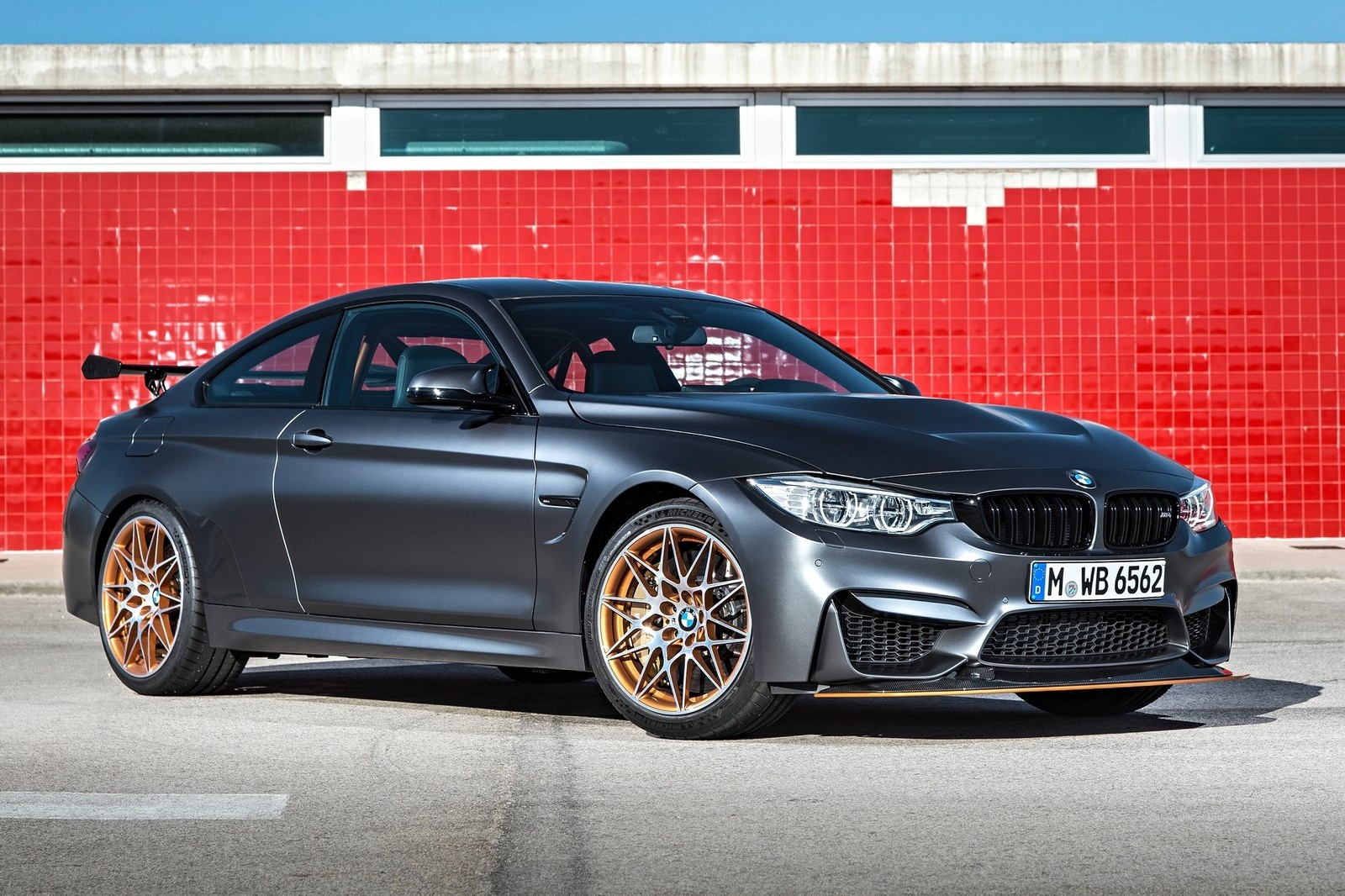The M4 GTS uses water injection to boost power output from its turbocharged six-cylinder engine.