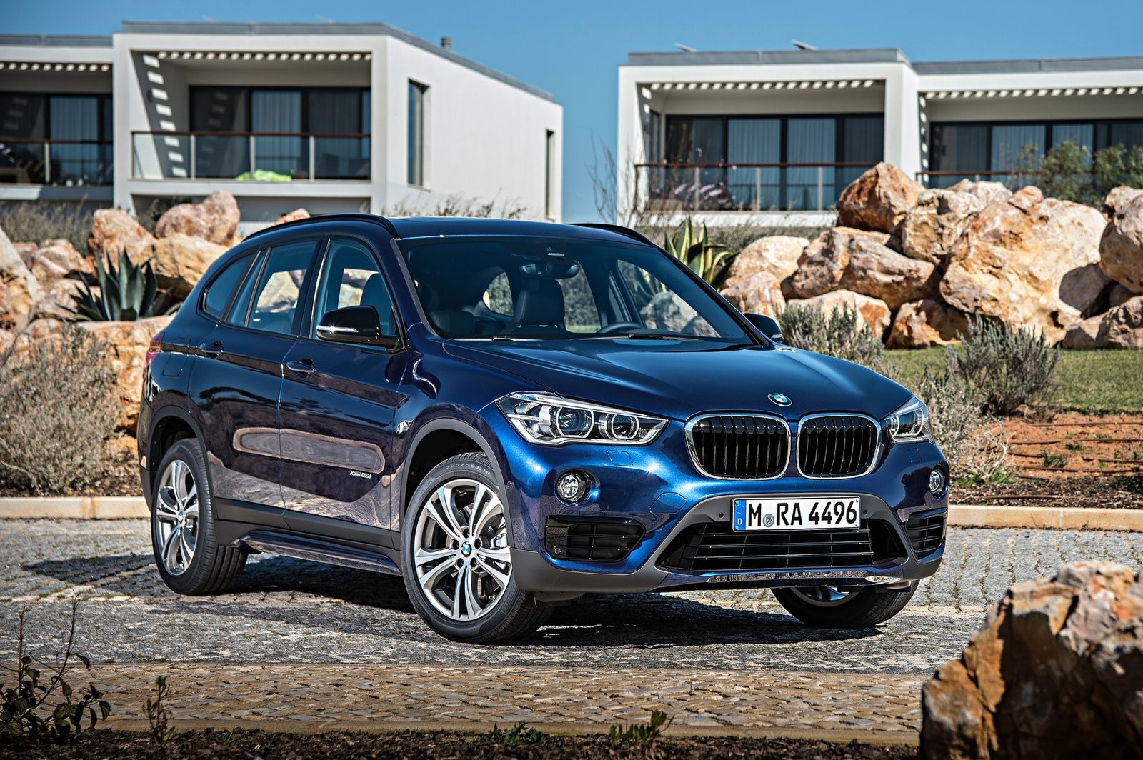 The X1 is the starting point for BMW's crossover range; it's all-new for 2016.