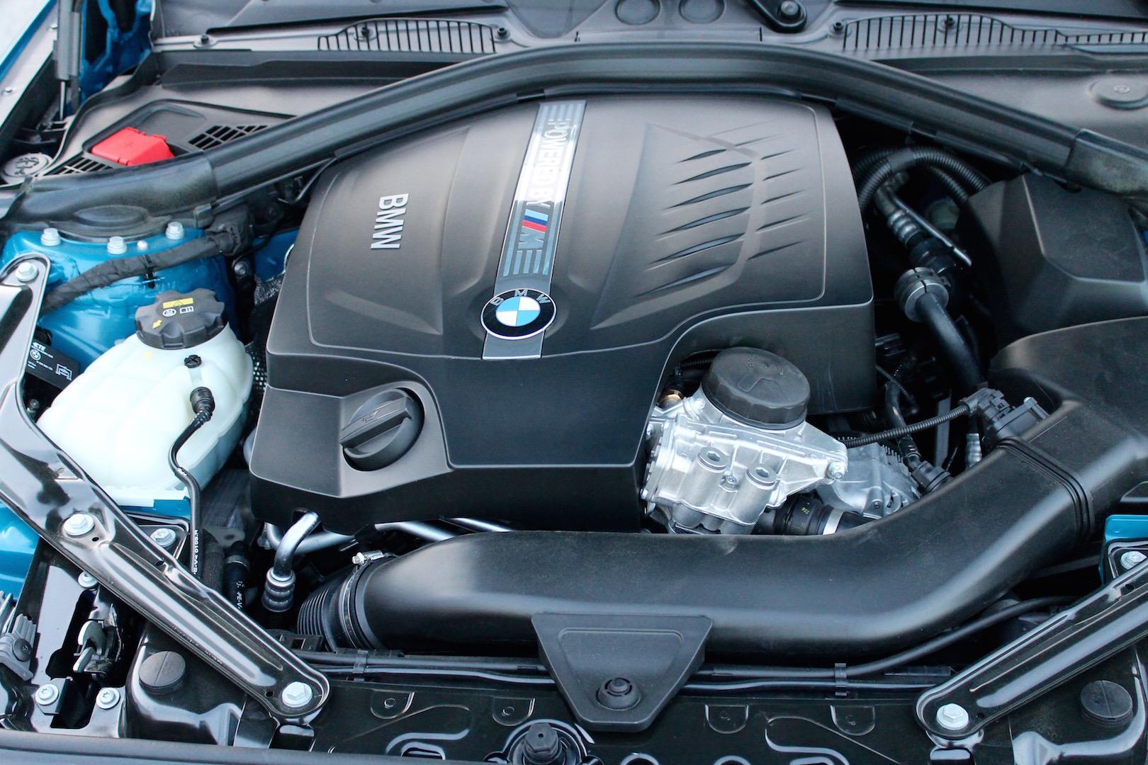 2016 BMW M2 inline-six engine