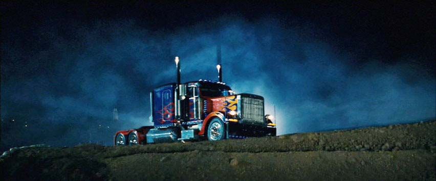 Optimus Prime from the movies