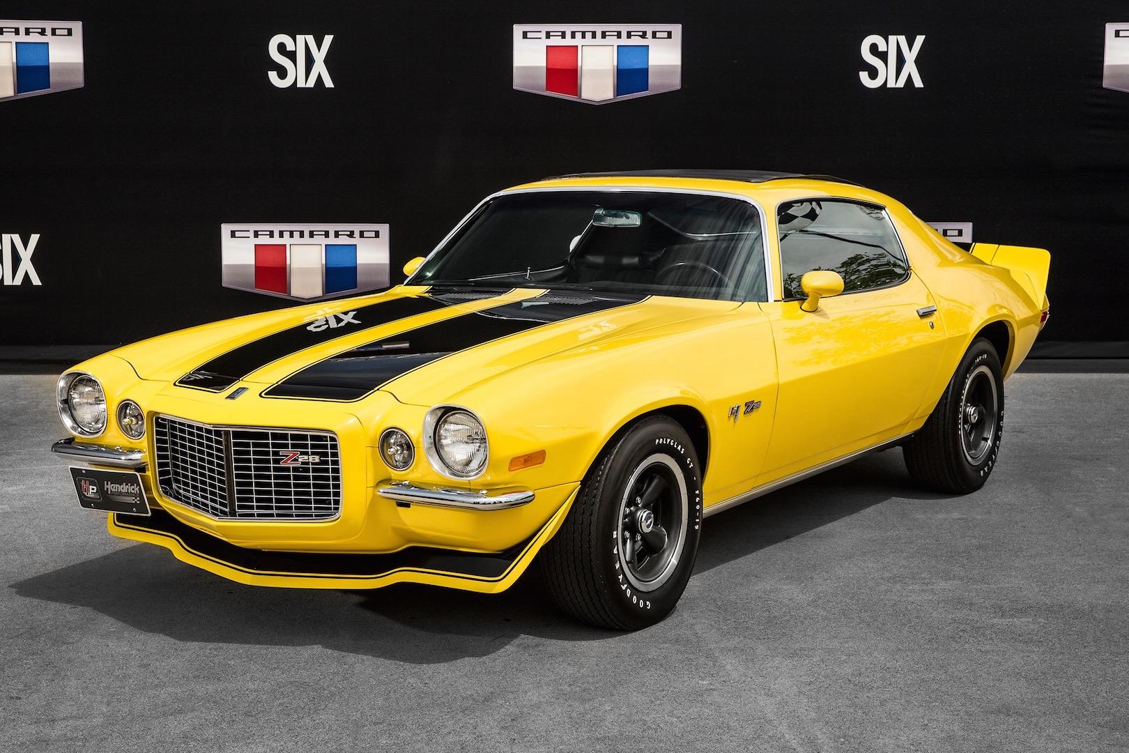 1970 Chevrolet Camaro Hurst Sunshine-Belle Isle Camaro Museum