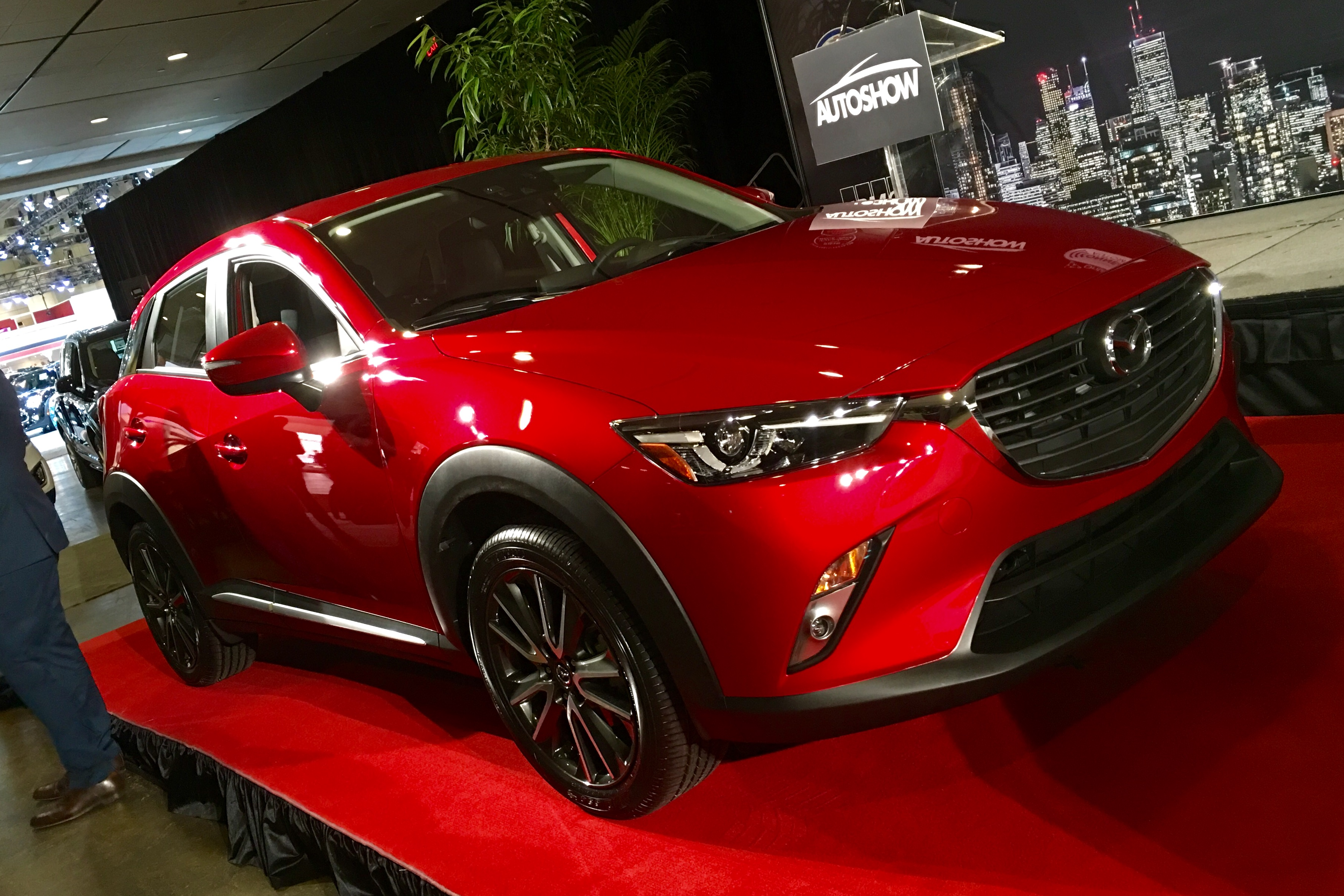Le véhicule utilitaire sport de l'année, le Mazda CX-3 2016