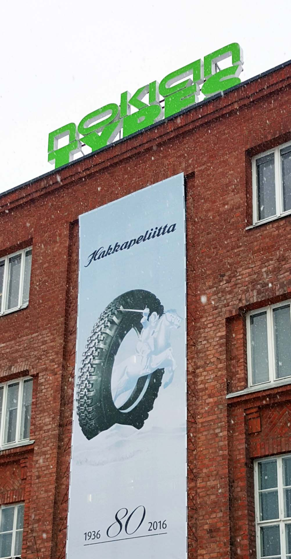 The Nokian factory in Nokia