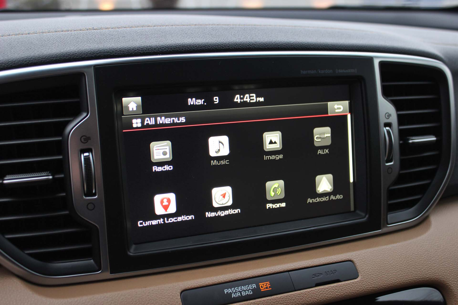The proprietary Kia UVO infotainment system hasn't changed a huge amount, but the addition of Android Auto compatibility (Apple CarPlay is on the way) add an extra layer of tech to the proceedings. It's all displayed on a responsive touchscreen. And, if you really want to hear your tunes, opt for the eight-speaker Harman/Kardon 320-watt audio system.