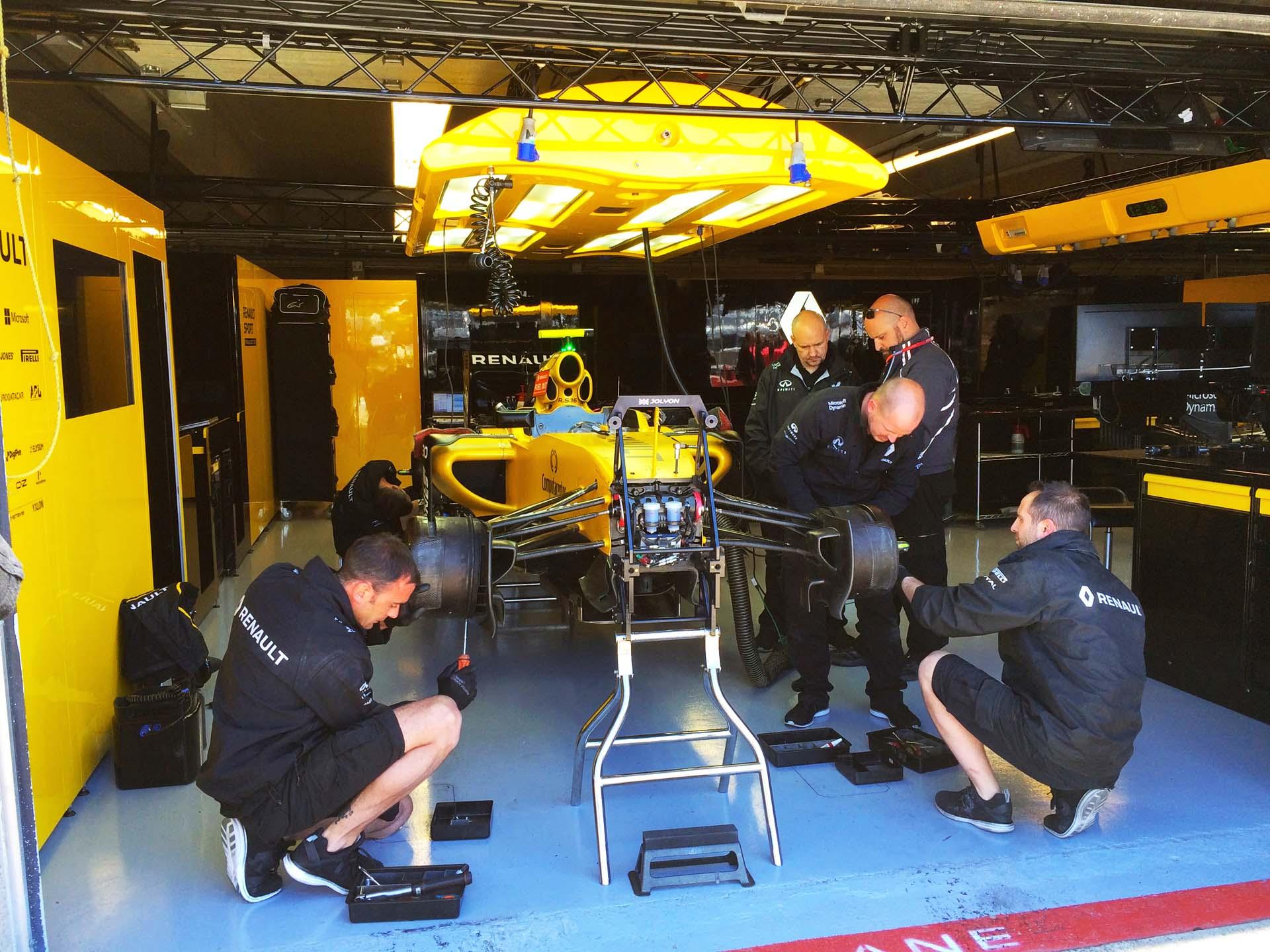 Renault F1 Paddock