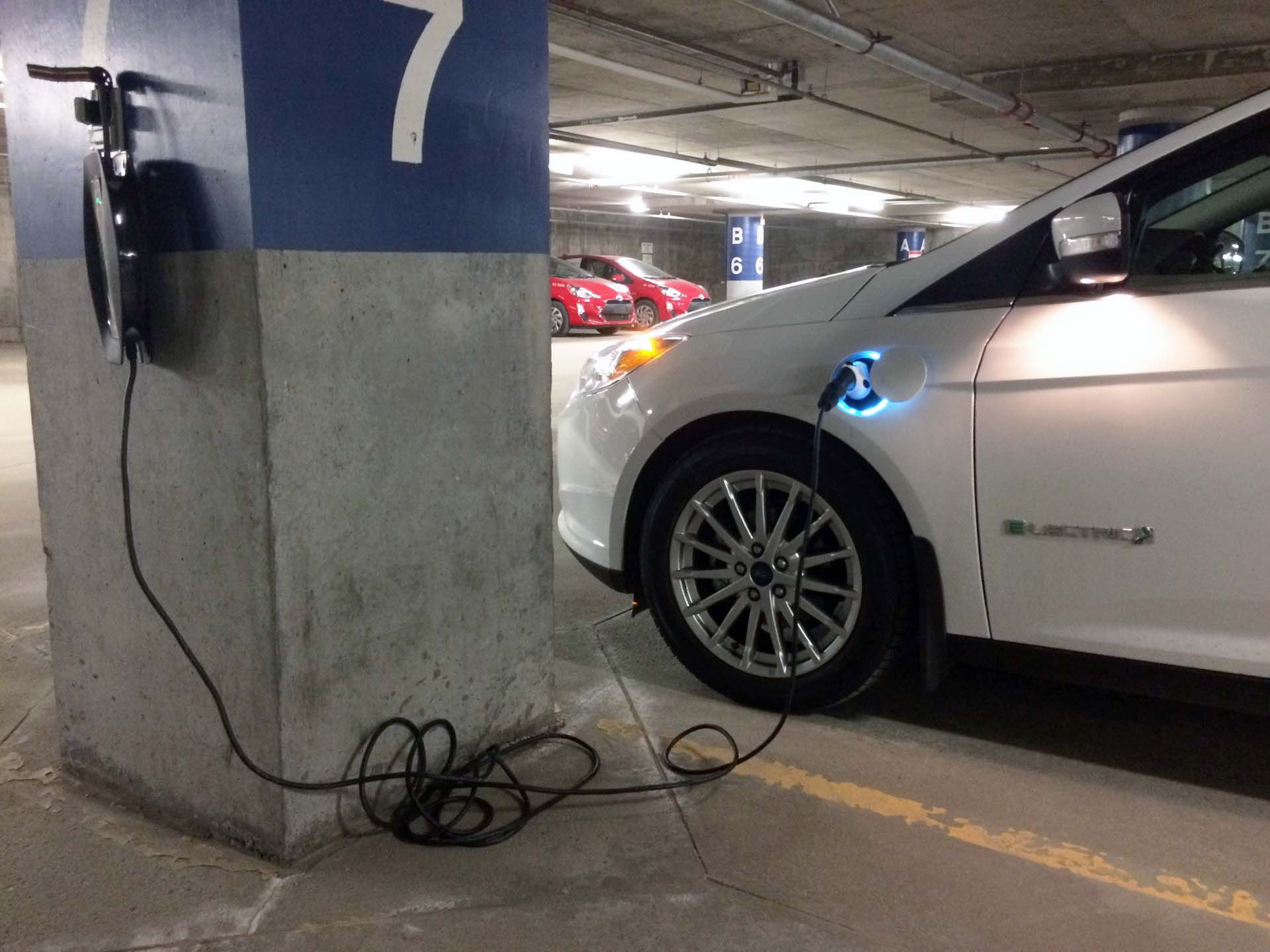 charging in underground parking