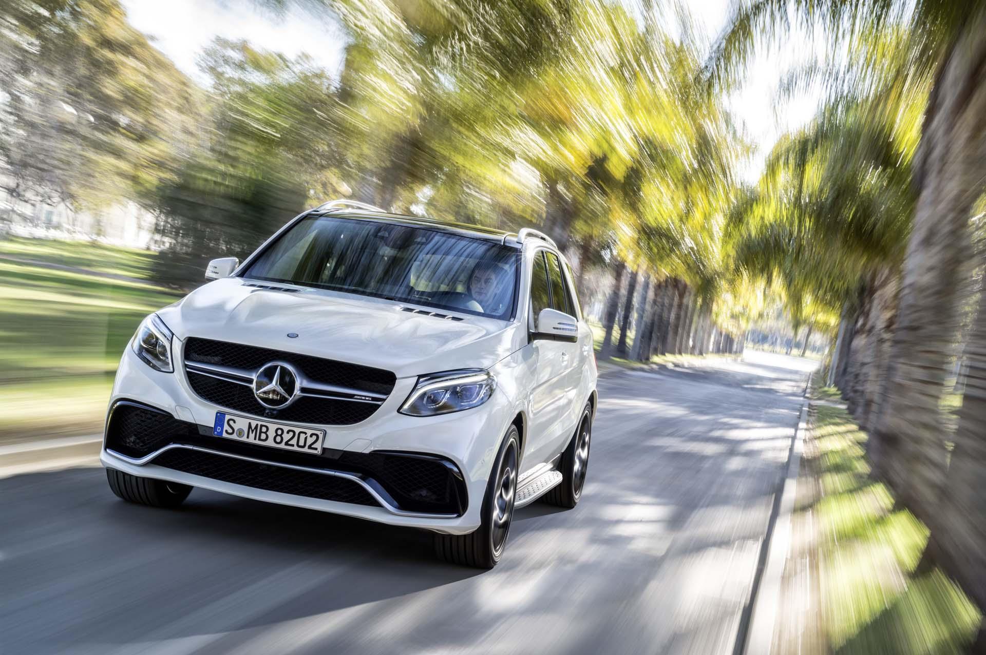 Mercedes-AMG GLE 63 S, Exterieur: designo diamantweiß bright ;</p> <p>Mercedes-AMG GLE 63 S, exterior: designo diamond white bright;