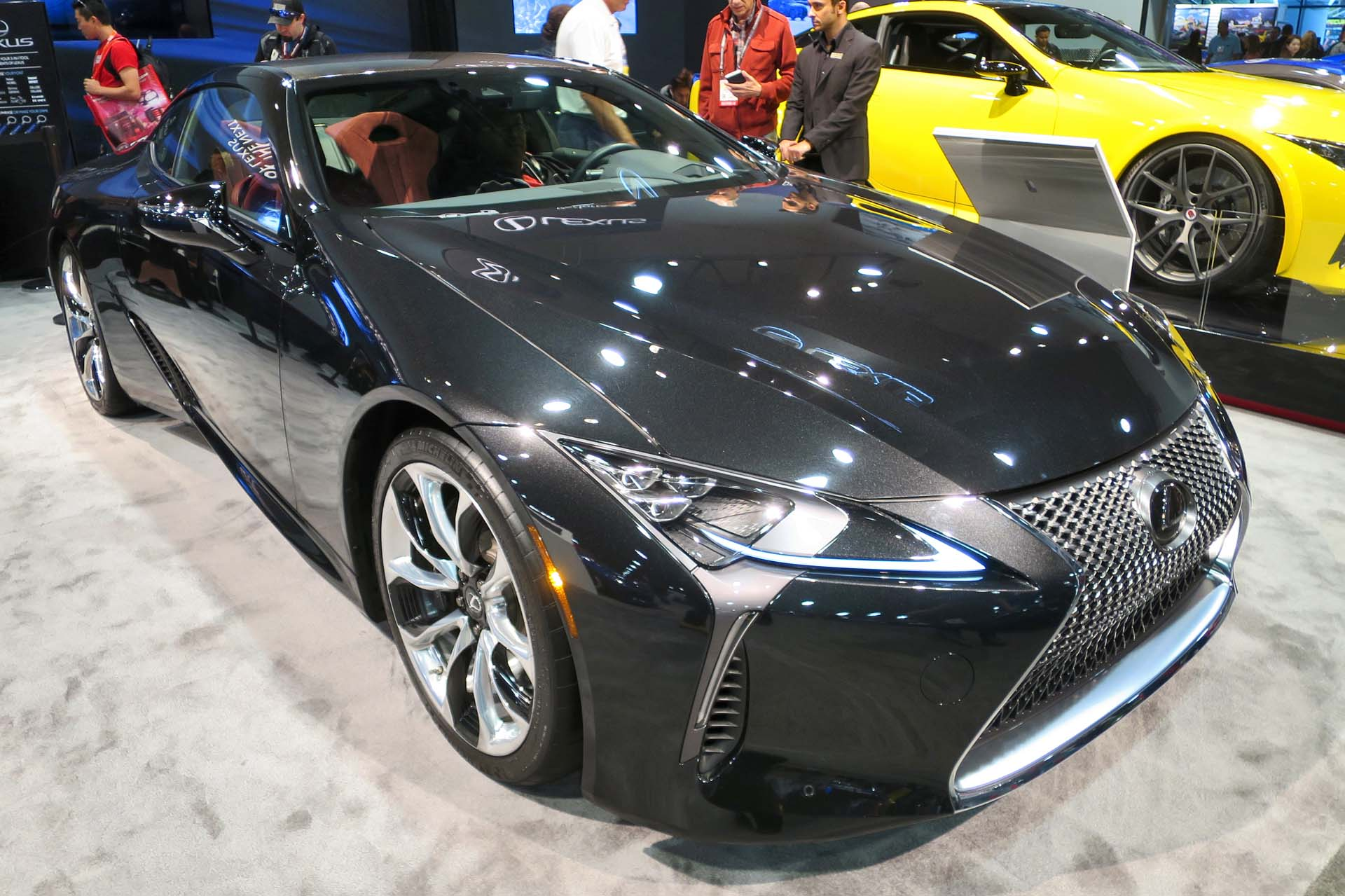 Lexus introduced its new LC 500 at the SEMA show.
