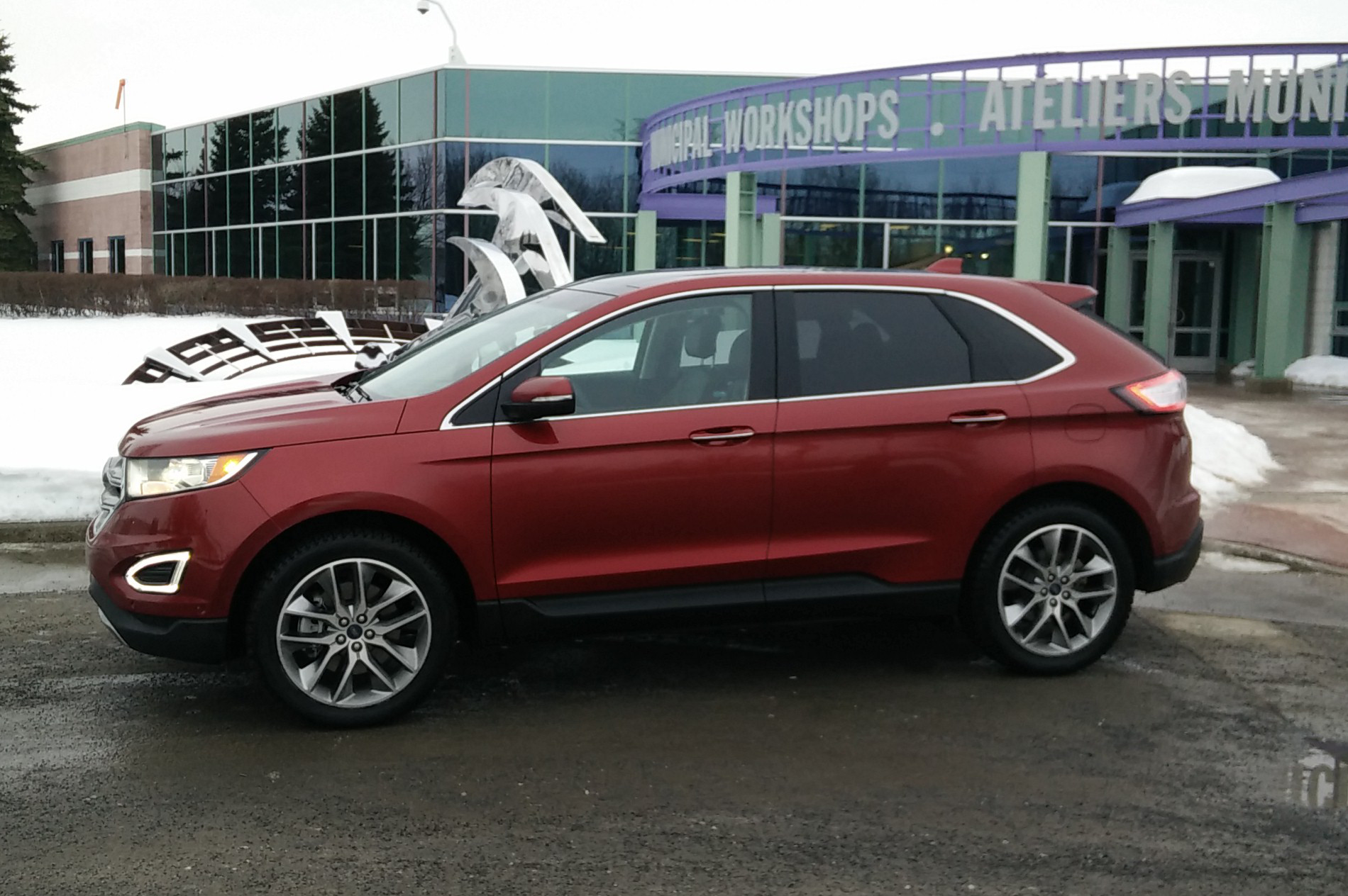 Day By Day Review  Ford Edge Titanium Awd