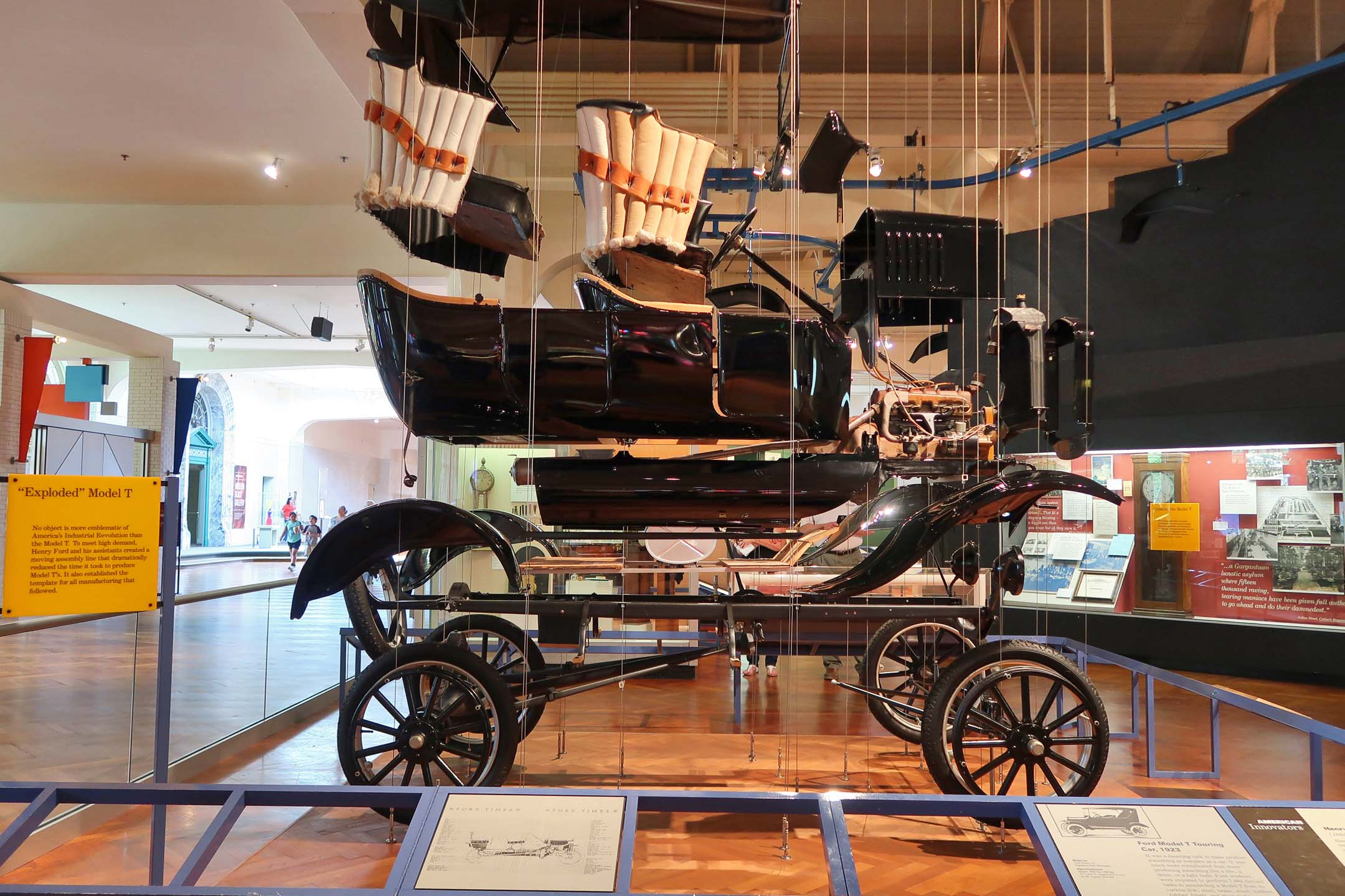 A Model T is all about the sum of its parts