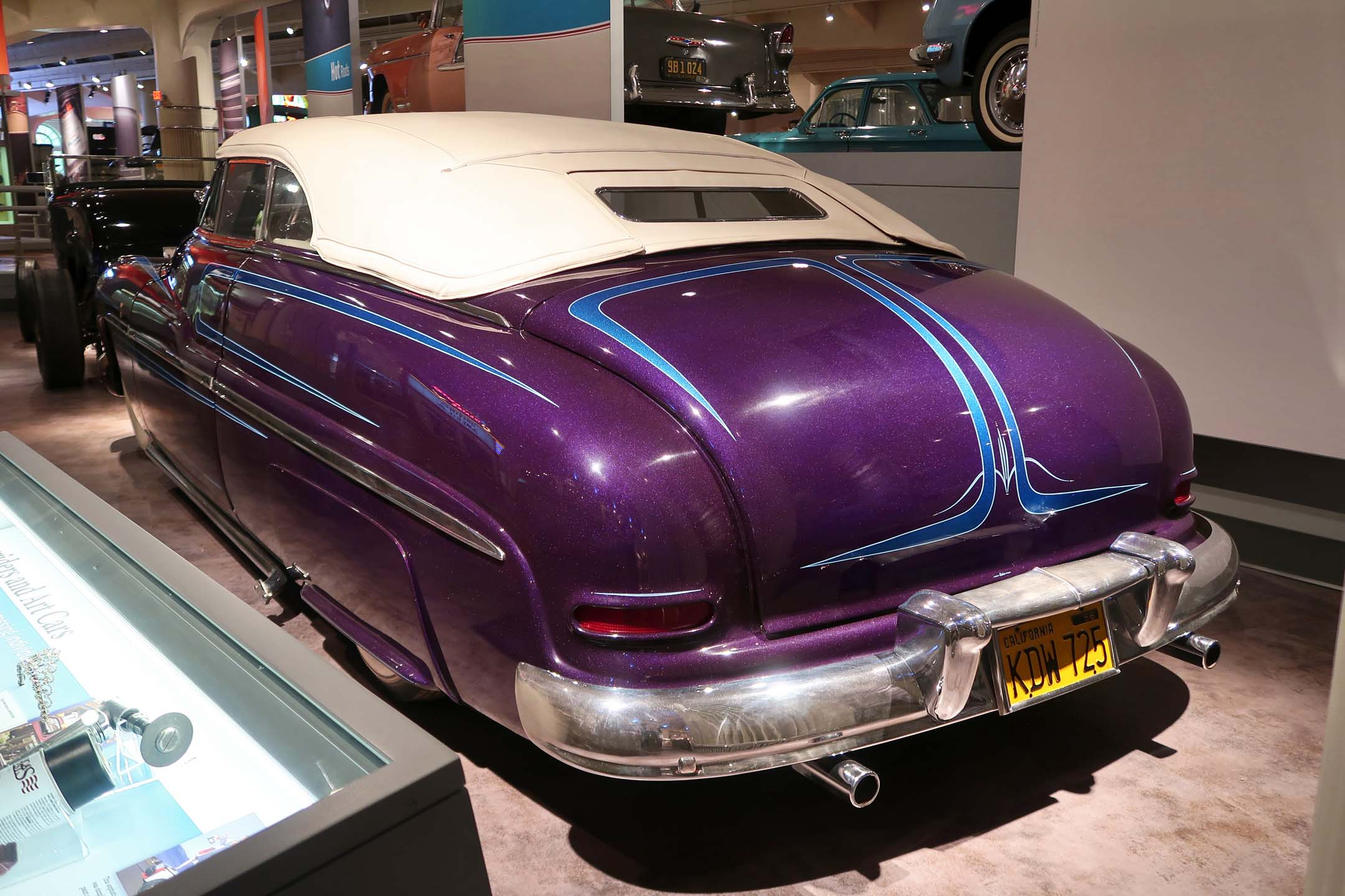 A 1949 Mercury customized by the late George Barris