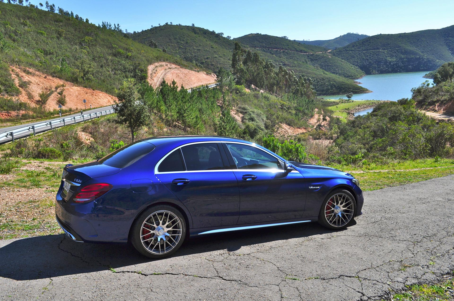 After spending a day driving the C 63 S on both twisty roads of southern Portugal and the Portimao race track, here's how it stacks up from behind the wheel.