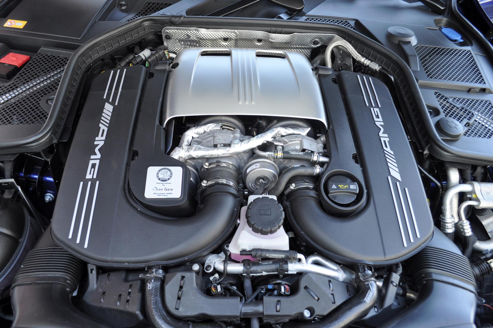 Using the same beastly 4.0L V8 found under the hood of the much pricier Mercedes-AMG GT two-seat sports car, the C 63 S pumps out 503 hp – the exact same rating as that all-new AMG GT, though the C 63 S clocks in at an even more monstrous 516 lb-ft of torque. The regular C 63 uses the same engine but slightly detuned, but still demolishes everything in its class with 469 hp and 479 lb-ft of torque.