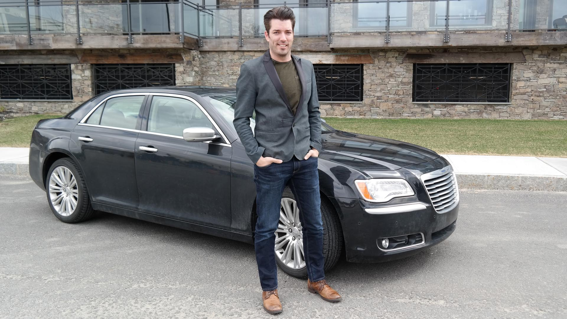 Jonathan with his 2014 Chrysler 300